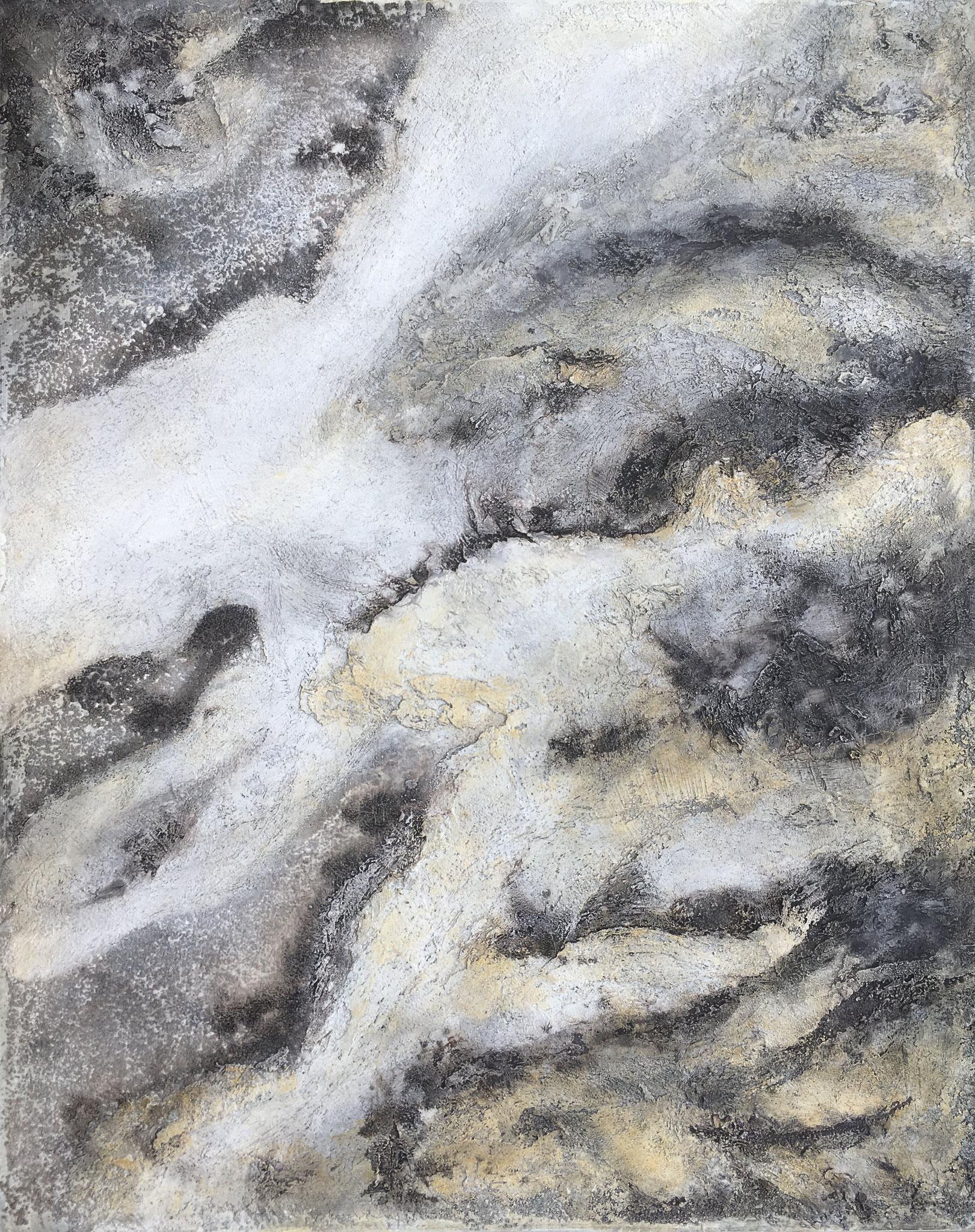 """Greyground"", 80 cm x 100 cm"