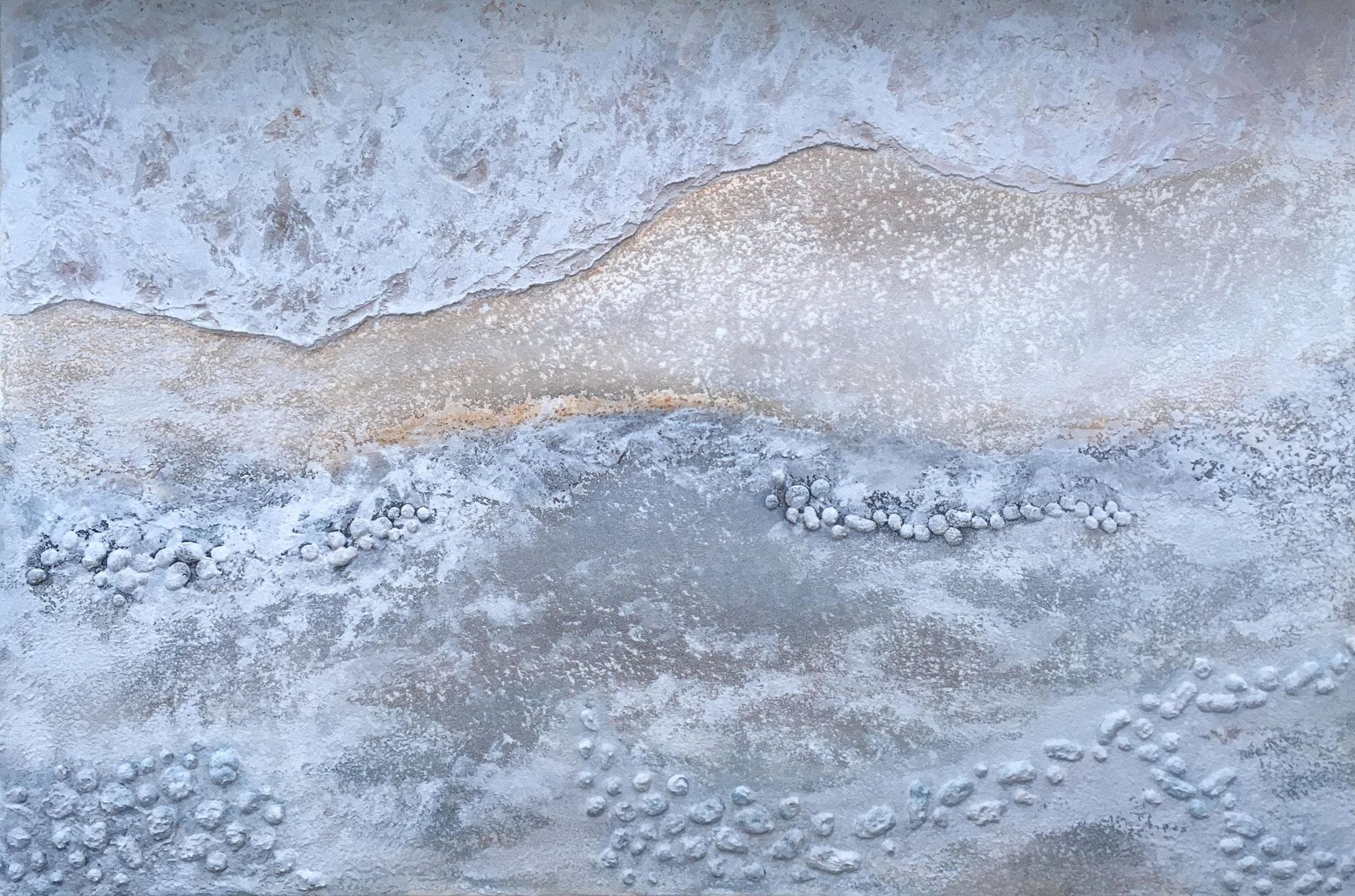 """Yellowstone"", 80 cm x 120 cm"