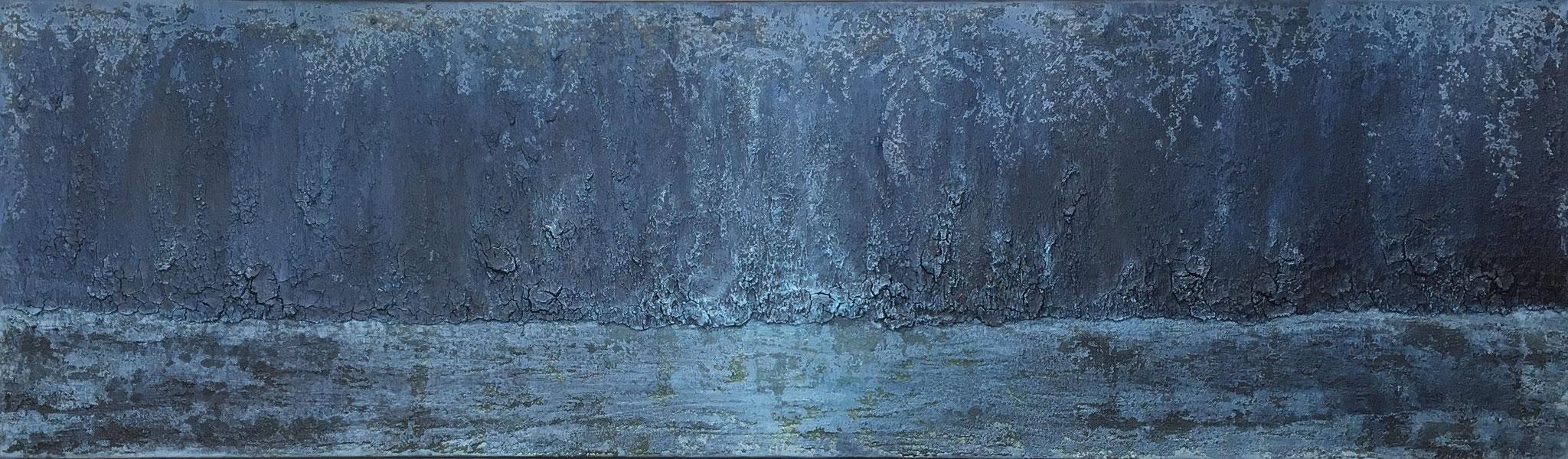 """""""... ins Blaue"""", 50 cm x 170 cm"""