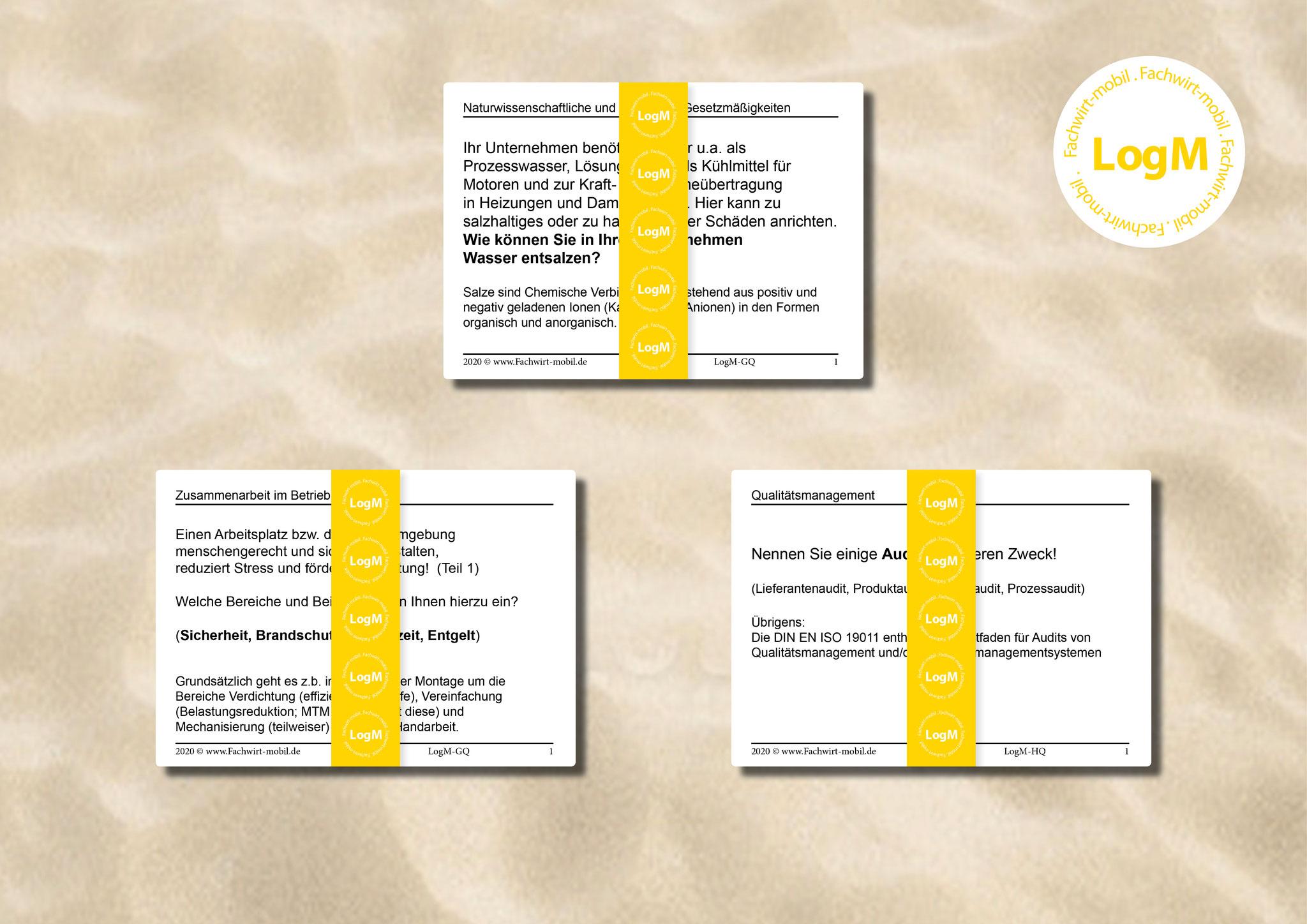 Logistikmeister - Lernkarten - gedruckte Lernkarten (inkl. Digital-Version)