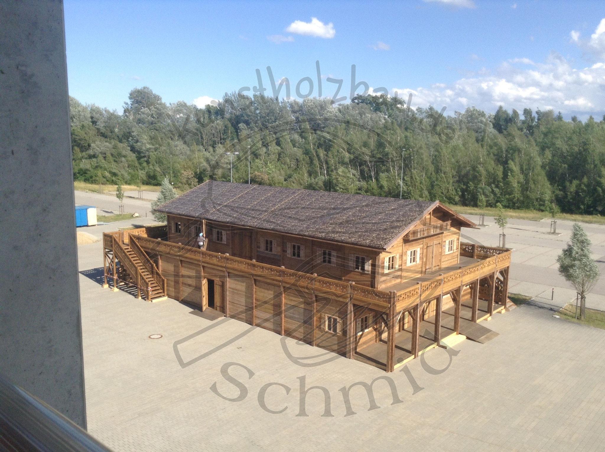 Doppeldecker Hütte