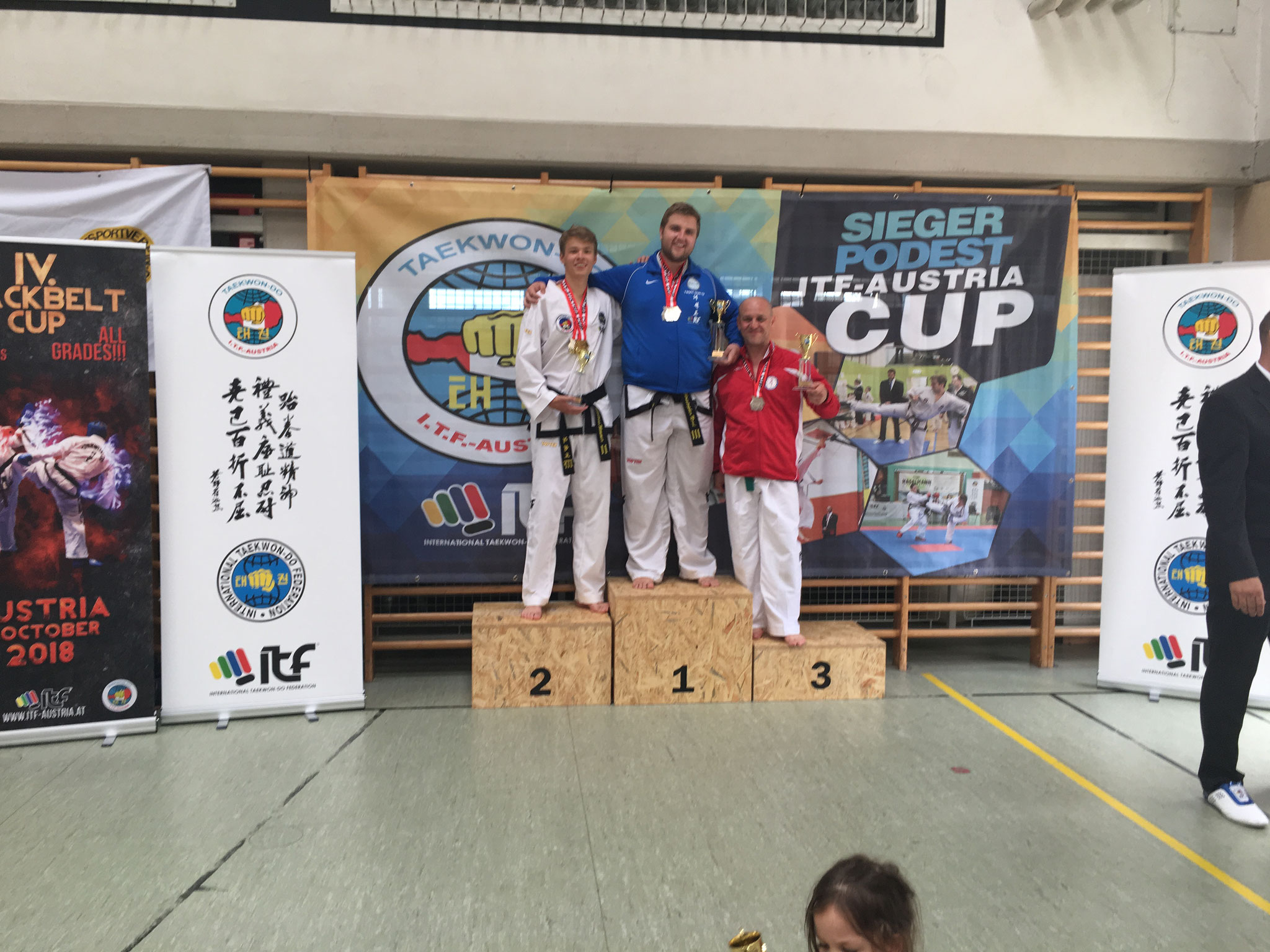 Gesamtwertung Senioren: Christopher & Nikolaus 1. und 2. Platz