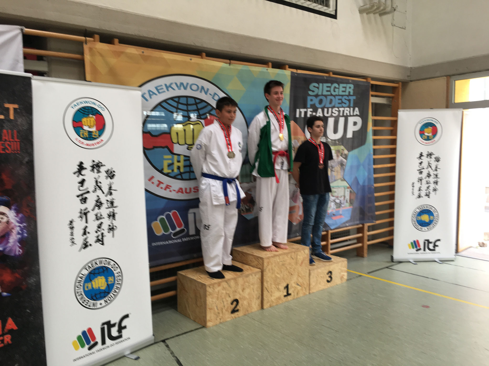 Amar 2.Platz Tageswertung Sparring
