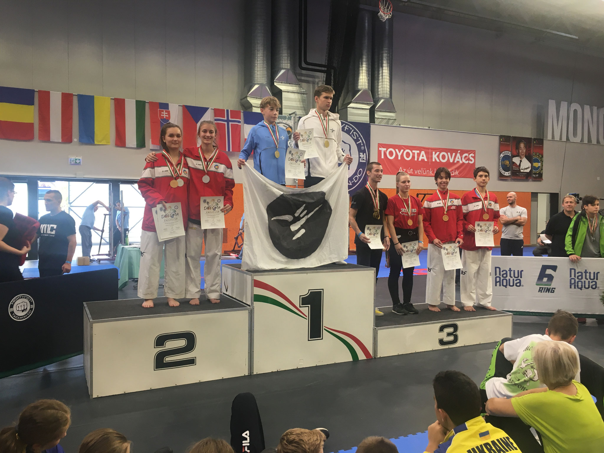 Katja & Evelina - 2. Platz im Pre arranged Sparring