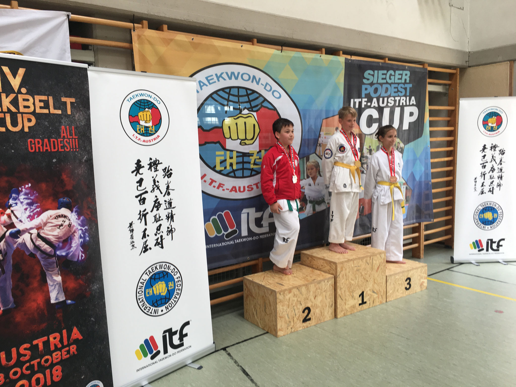 Hunor 3. Platz Tageswertung Sparring