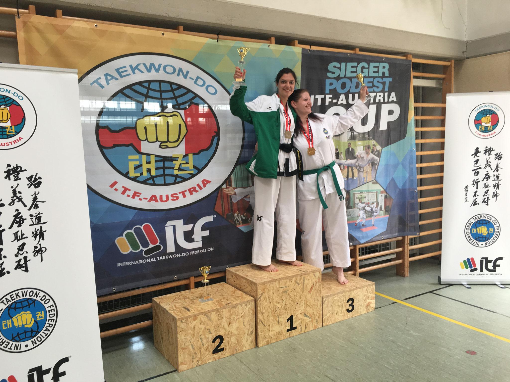 Gesamtwertung Senioren: Carmen 1.Platz