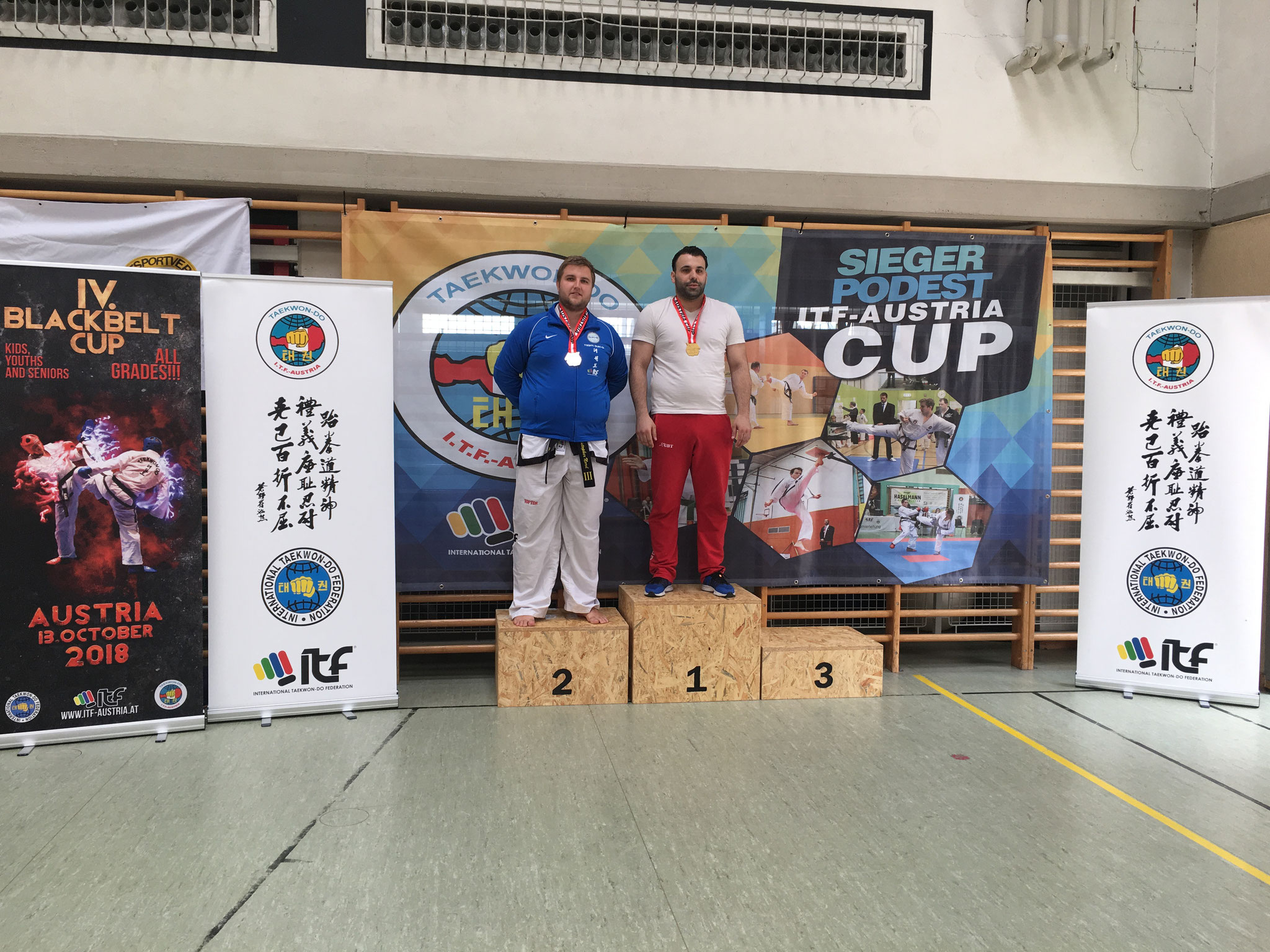 Christopher 2.Platz Tageswertung Sparring