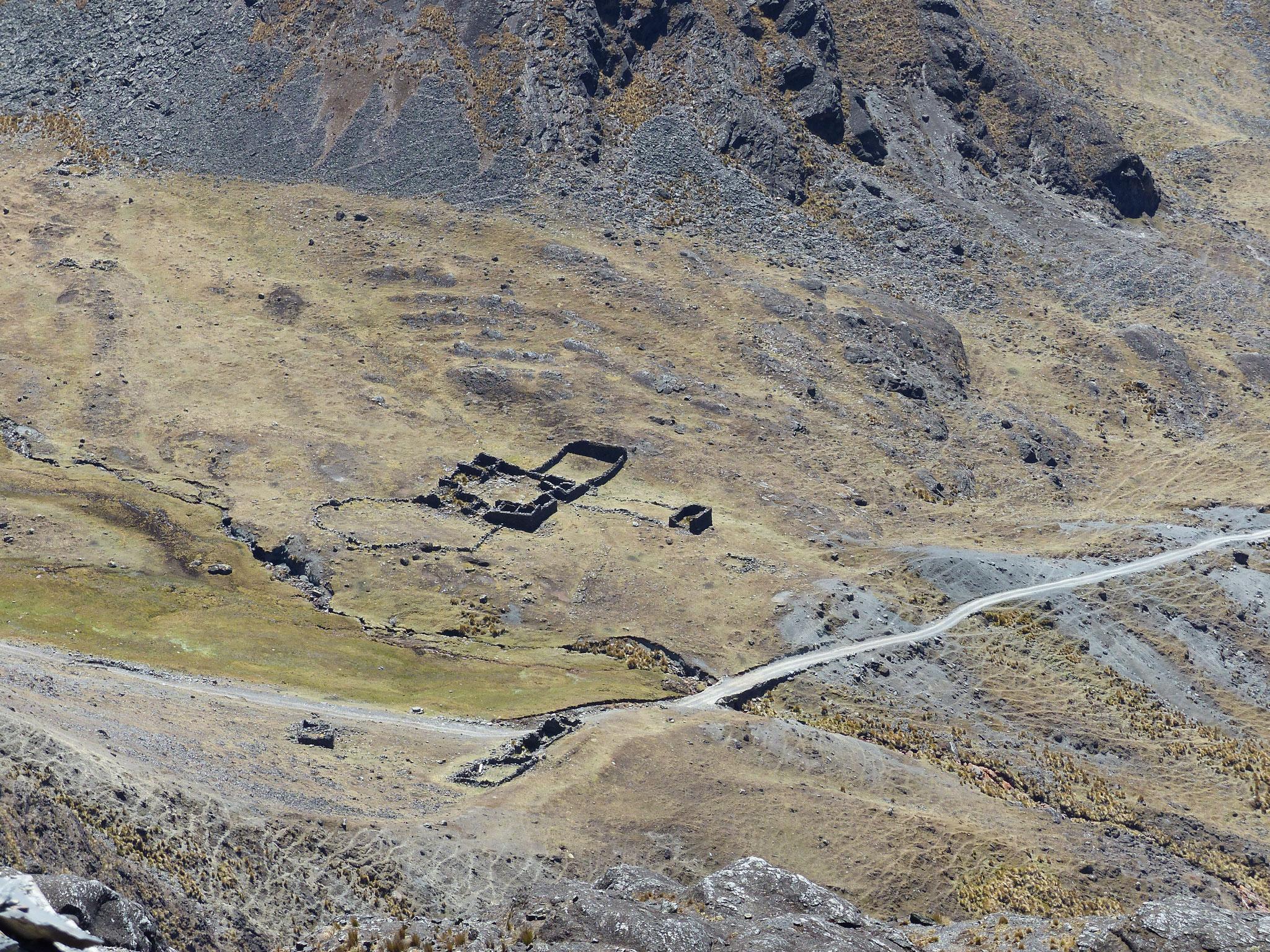 Des ruines incas !