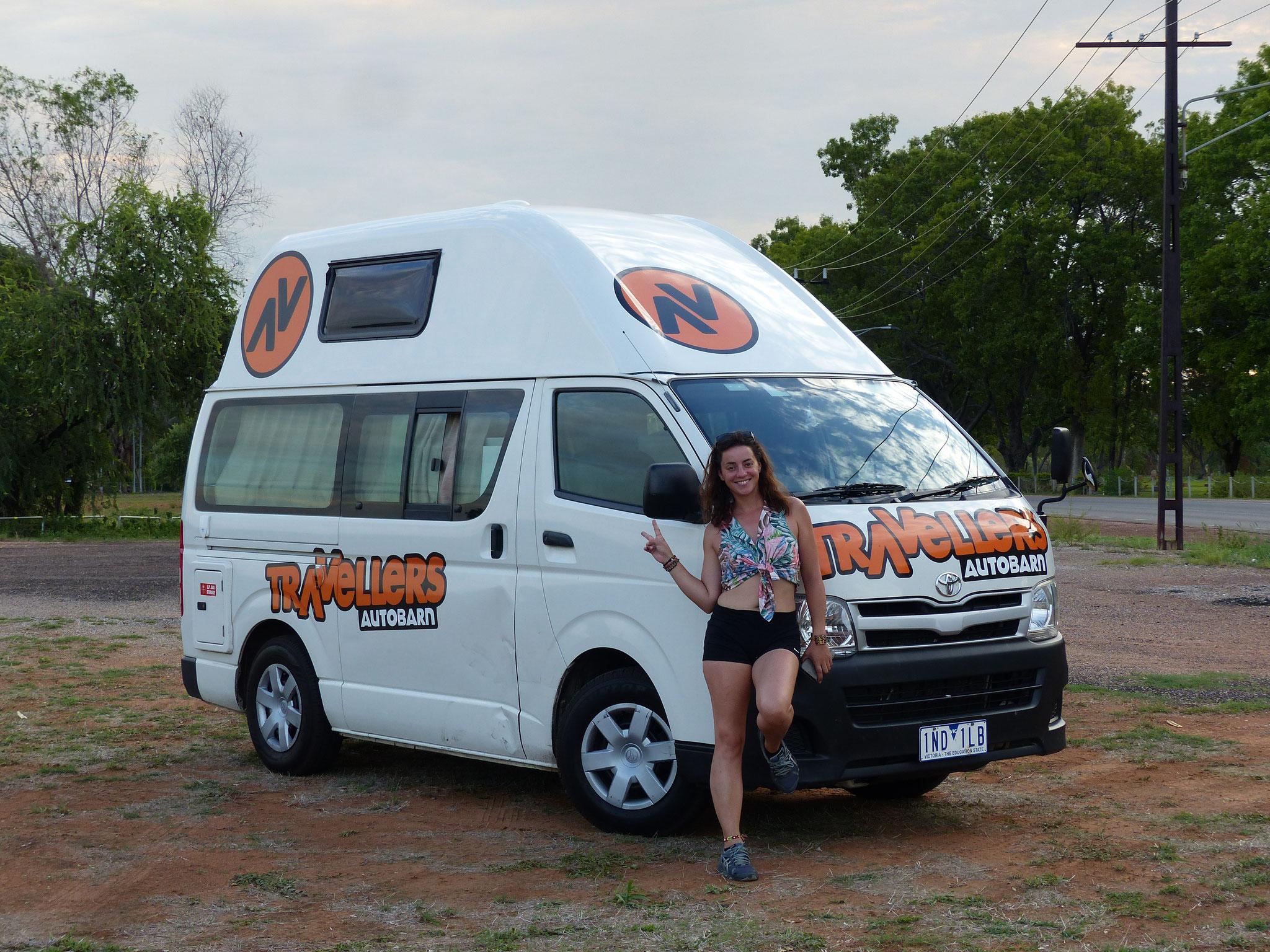 Et vous n'avez pas fini non plus de voir des photos de notre van!