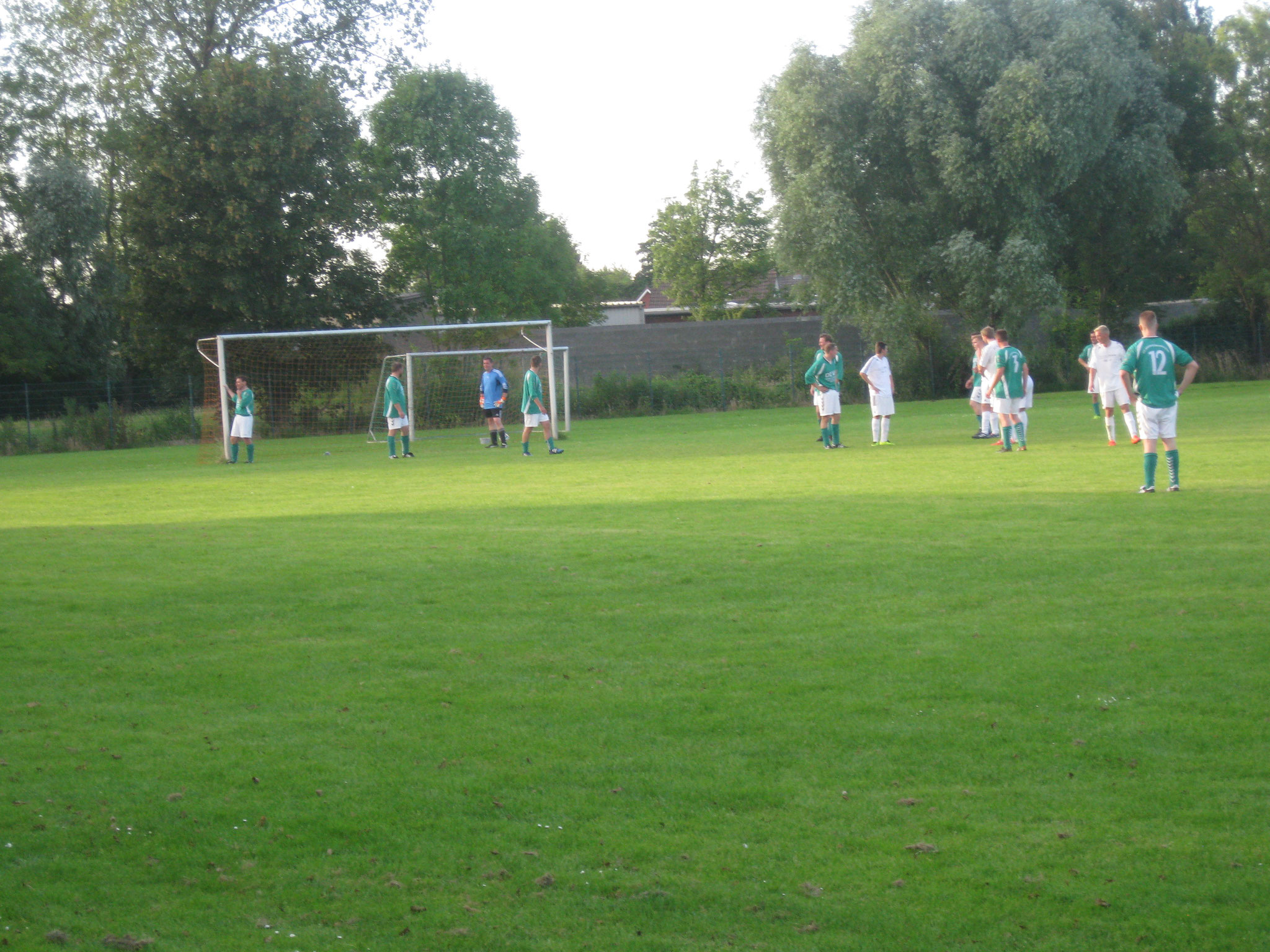 Trainingsspiel der Alte Herren gegen unsere Erste Mannschaft