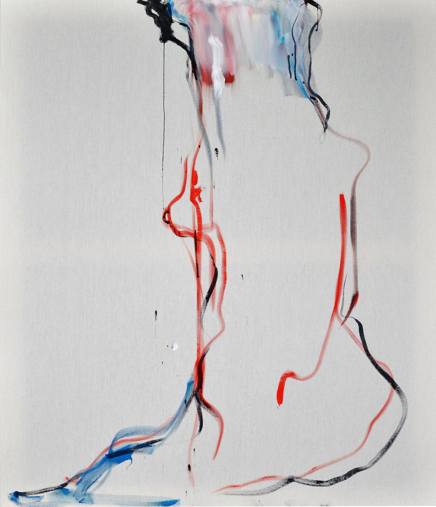 In dictum I (Acrylic on Canvas, 120x100cm)