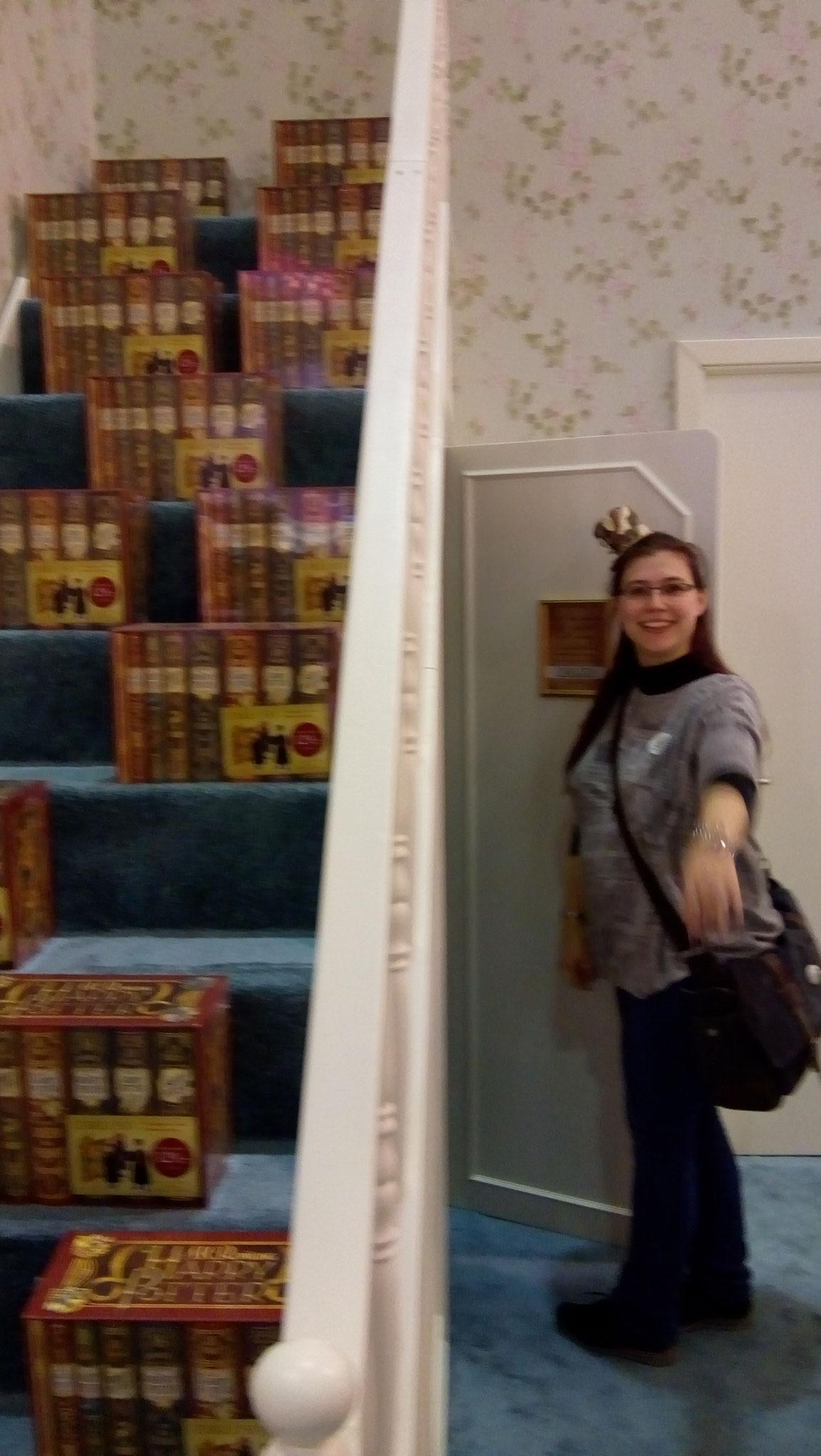 Komm mit mir in Harrys Schrank unter der Treppe...