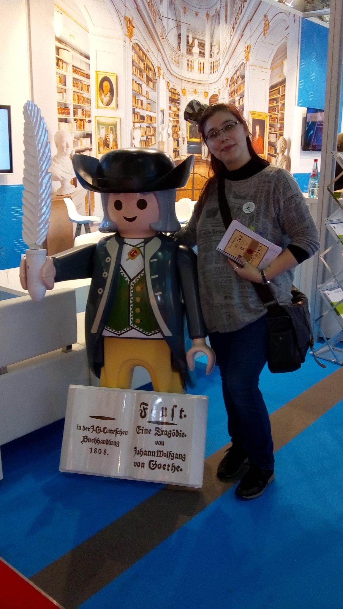 Ich hab Goethe getroffen! Naja... fast ;)