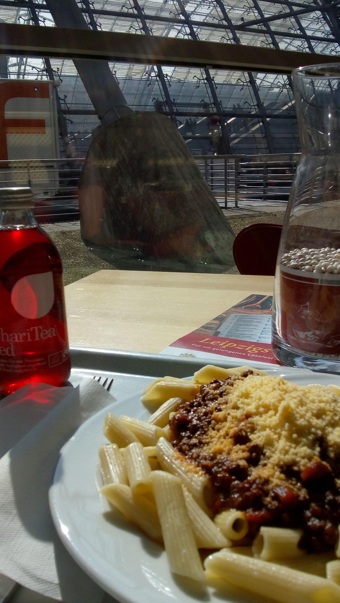 Mittagessen mit Aussicht