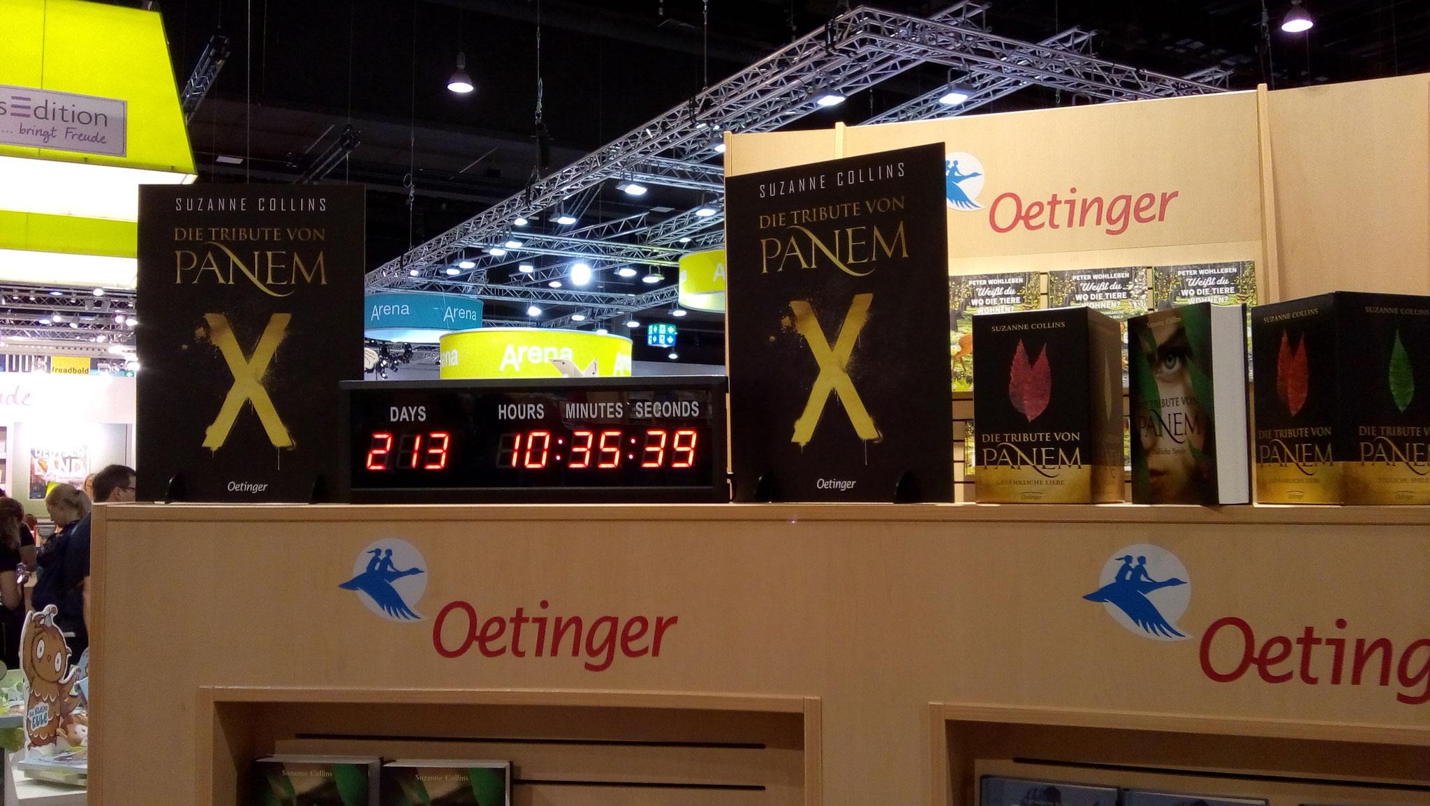 Countdown zum neuen Hunger-Games-Buch
