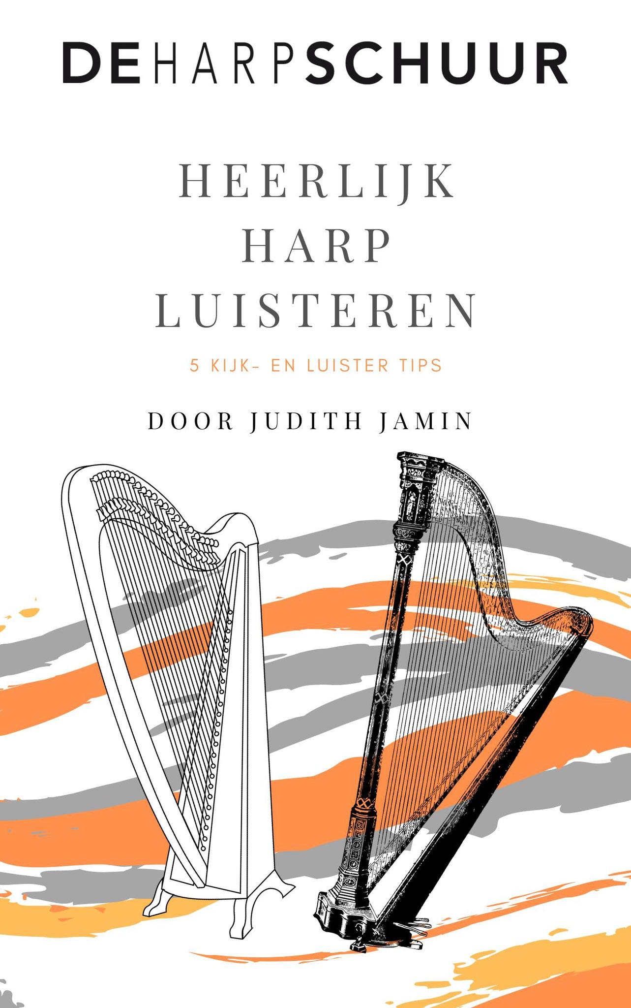 Ontvang 5 weken lang iedere week een kijk- en luister tip op harpgebied.