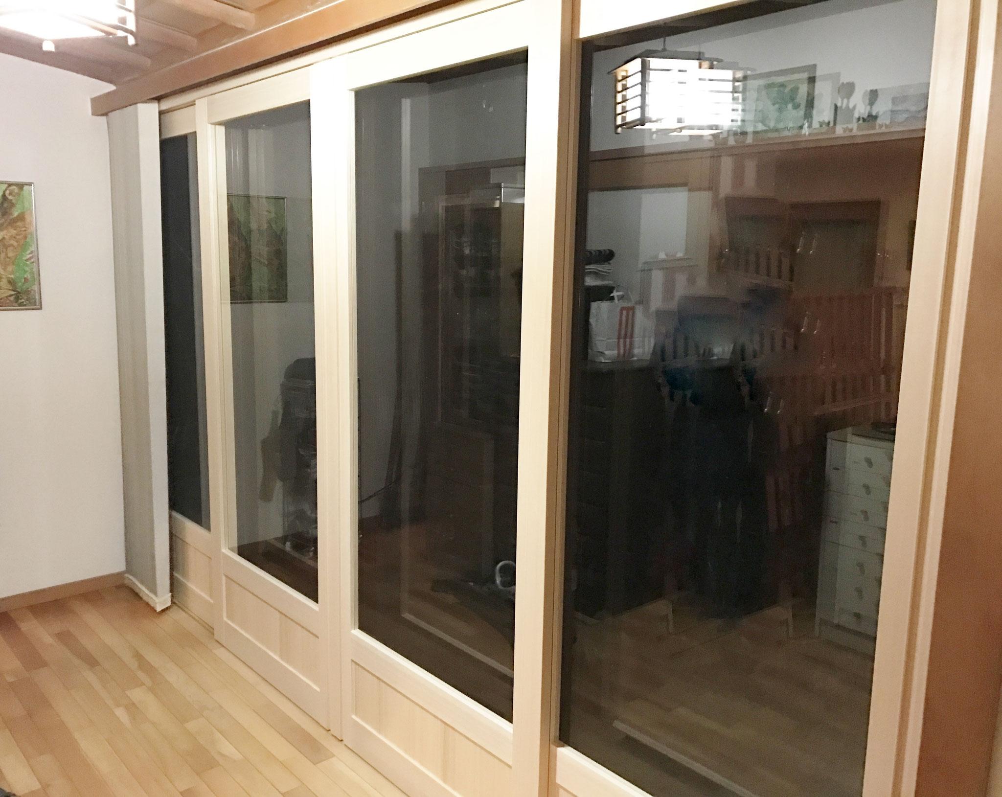 断熱 木製引違い戸 4枚