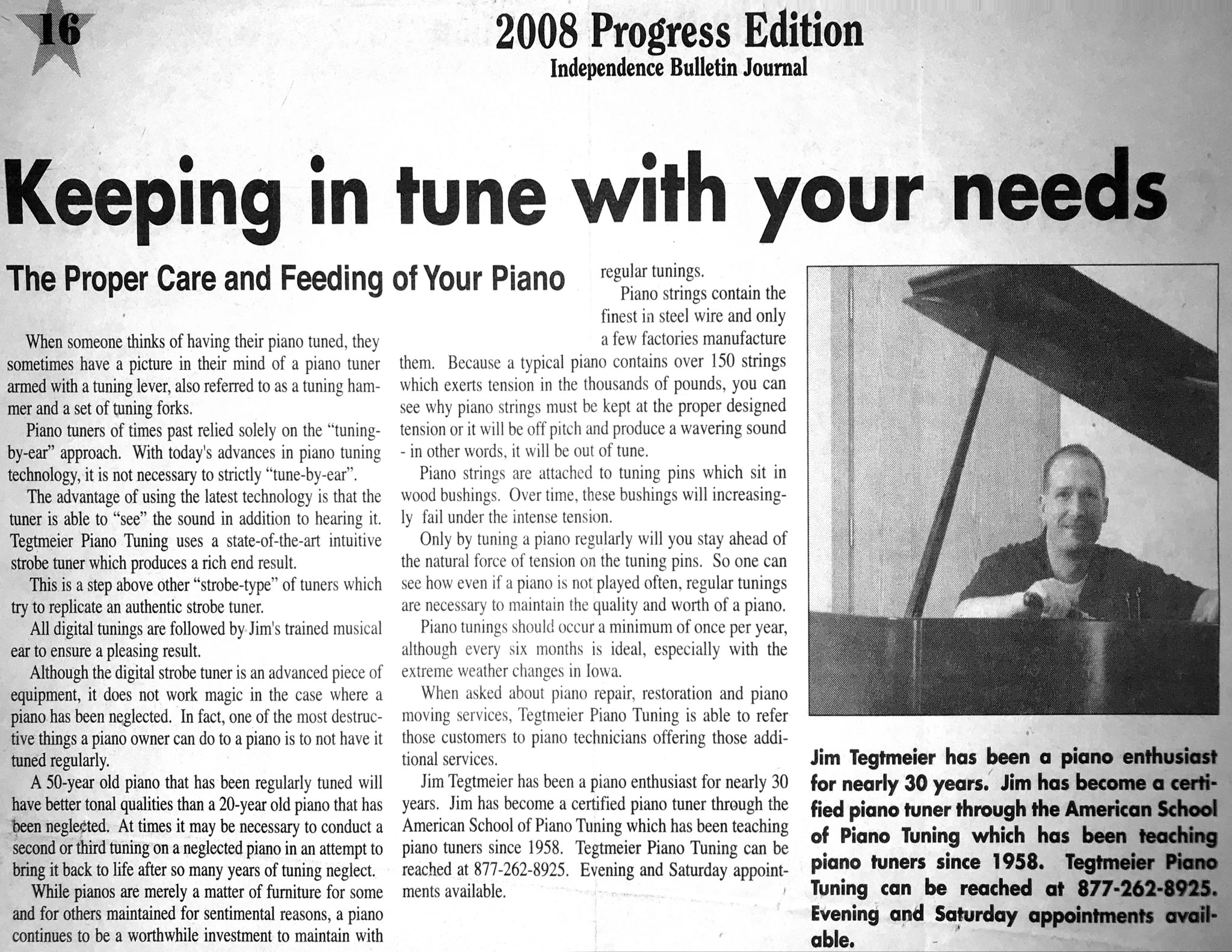 2008 Progress Edition - Independence Bulletin Journal