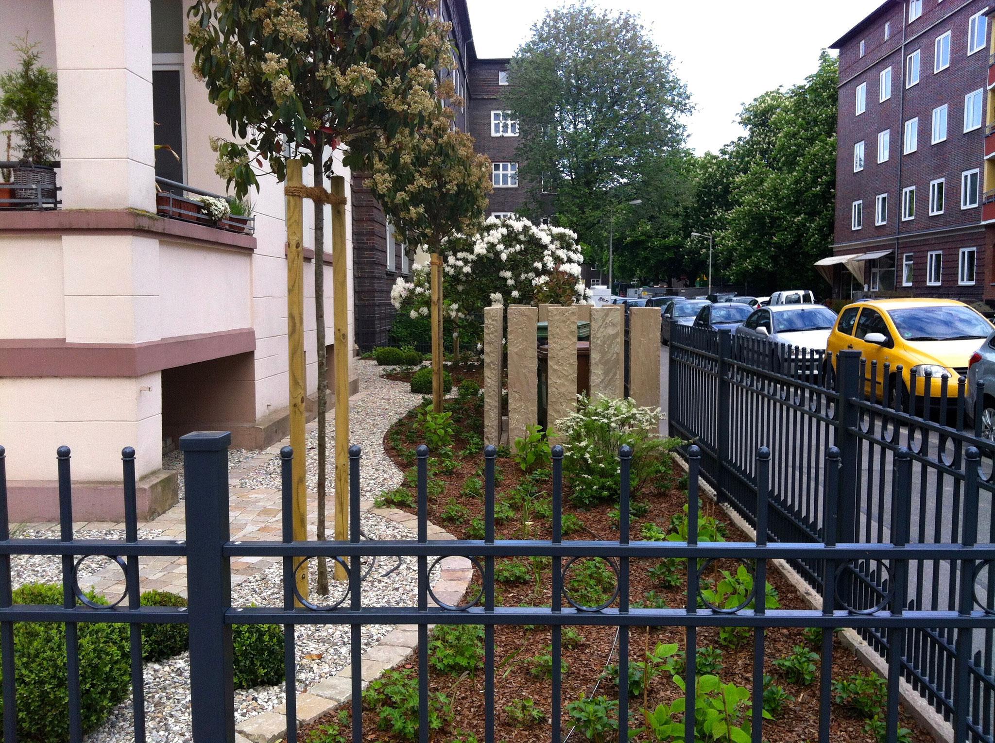 Mehrfamilienhausgarten 3