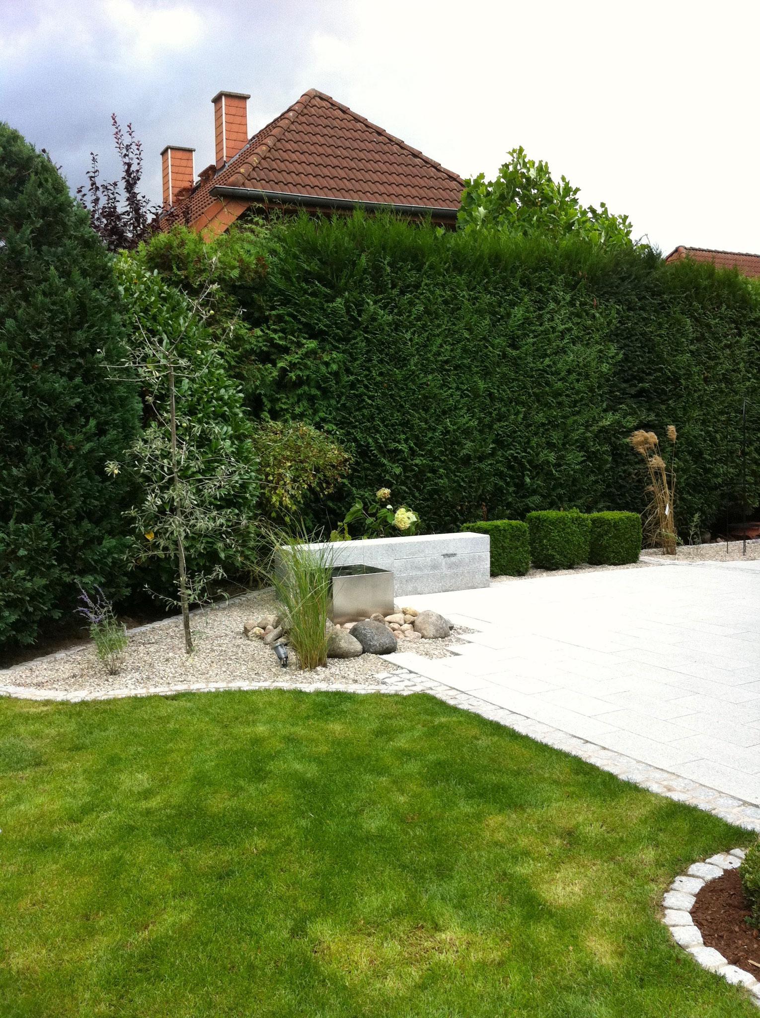 Einfamilienhausgarten 12