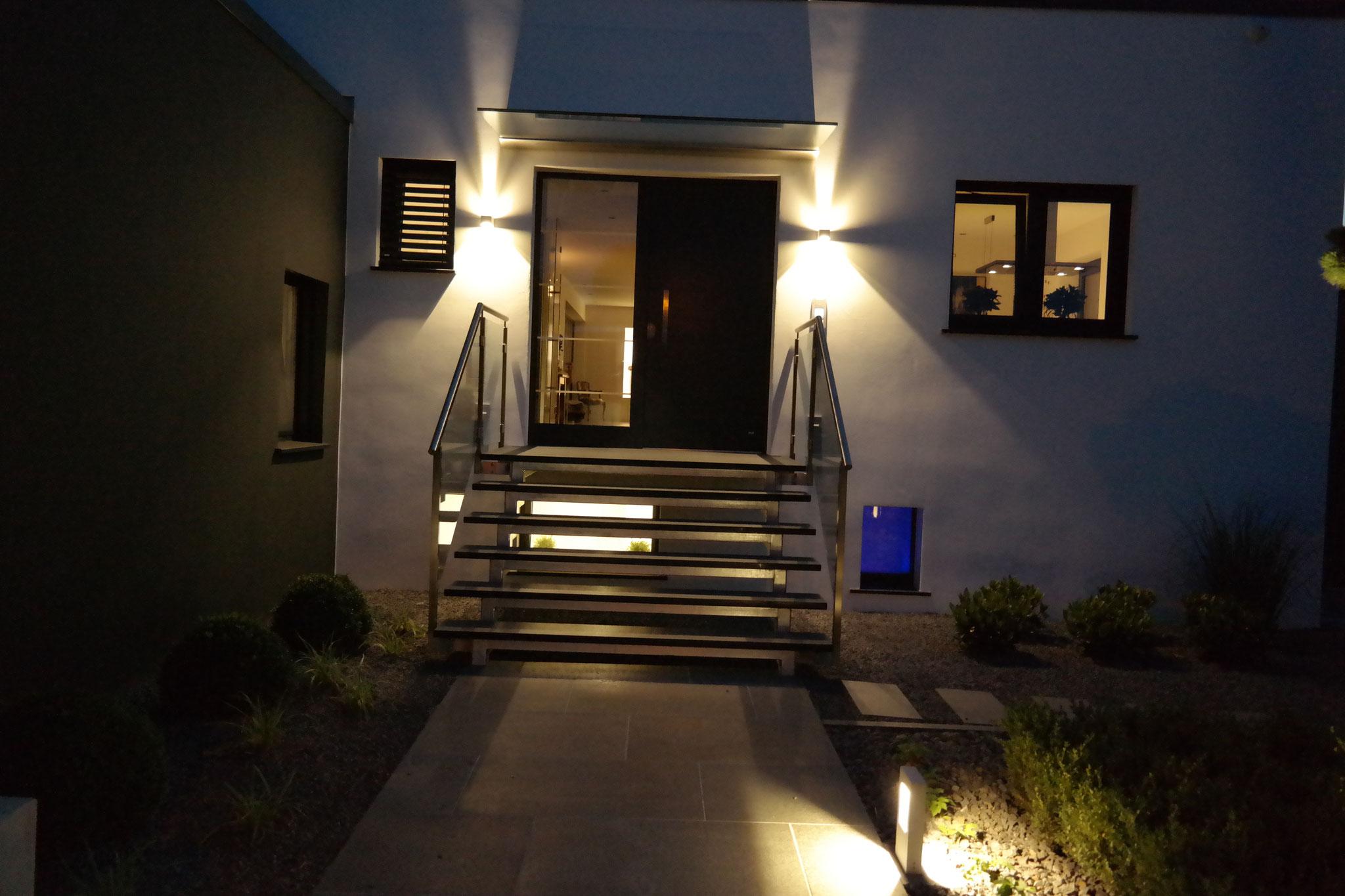 Garten beleuchtet 2