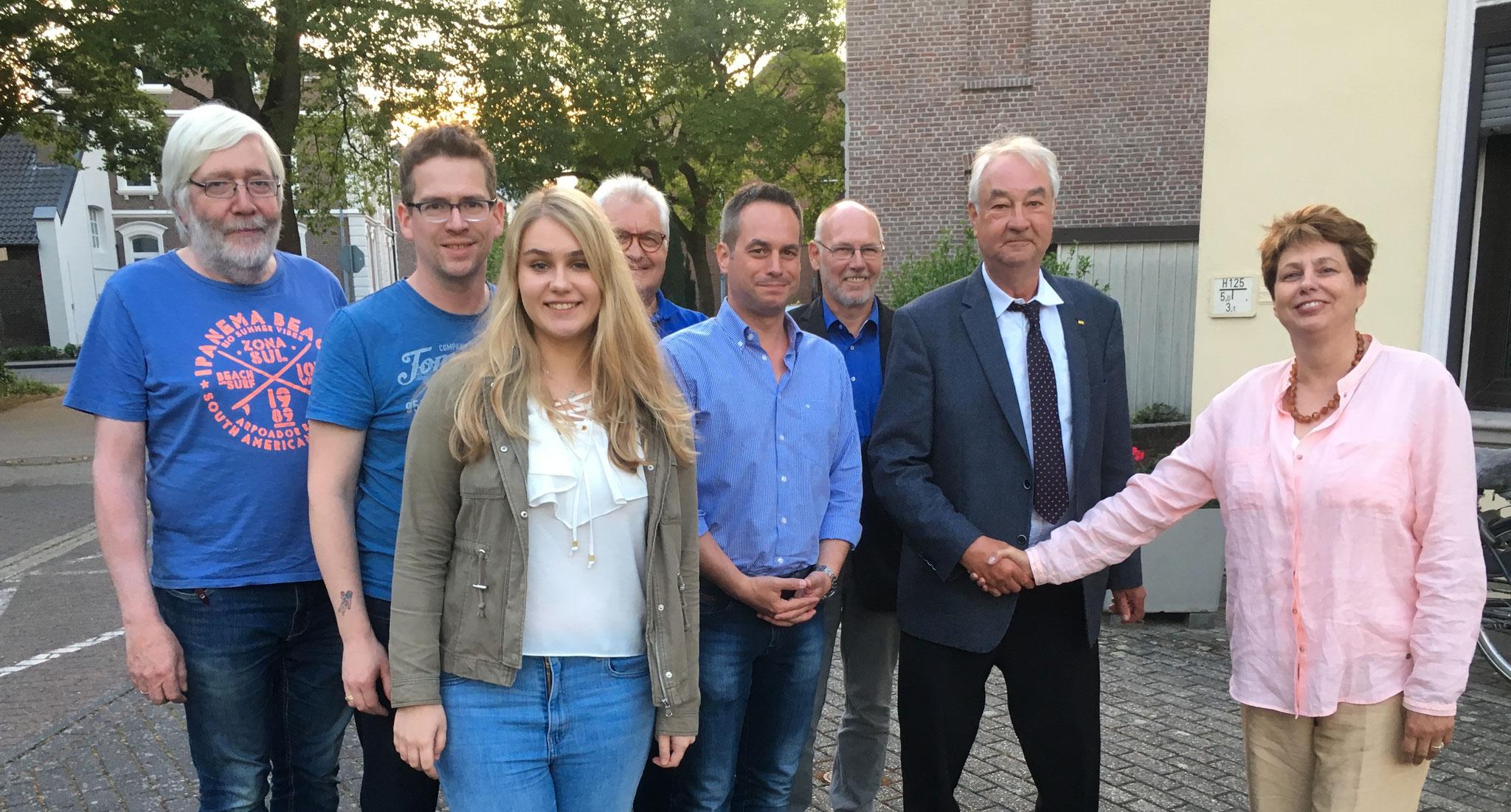 Ortsparteitag der FDP Schwalmtal am 23. Mai 2018 in Waldniel