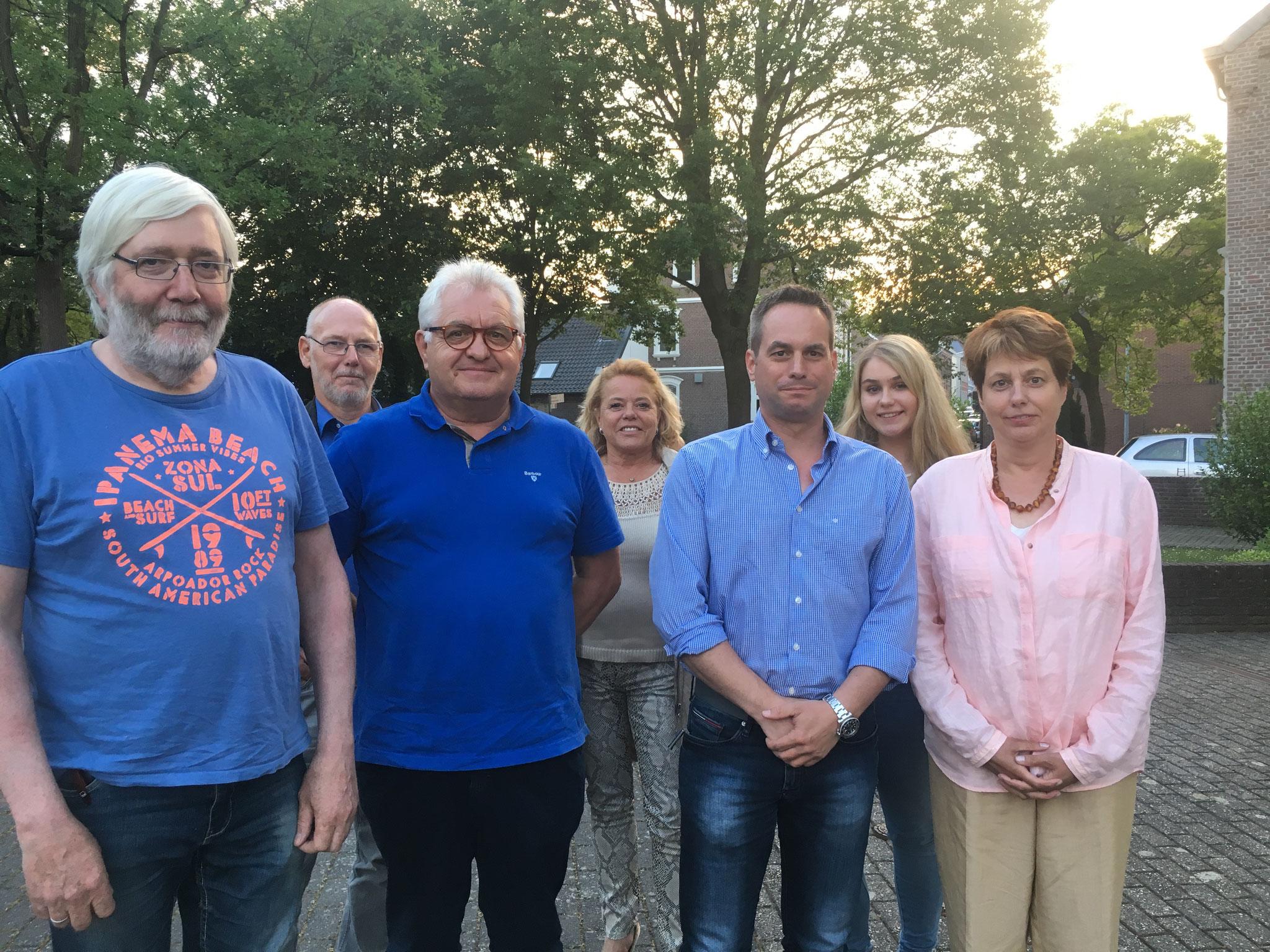 Vorstand der FDP Schwalmtal 2018