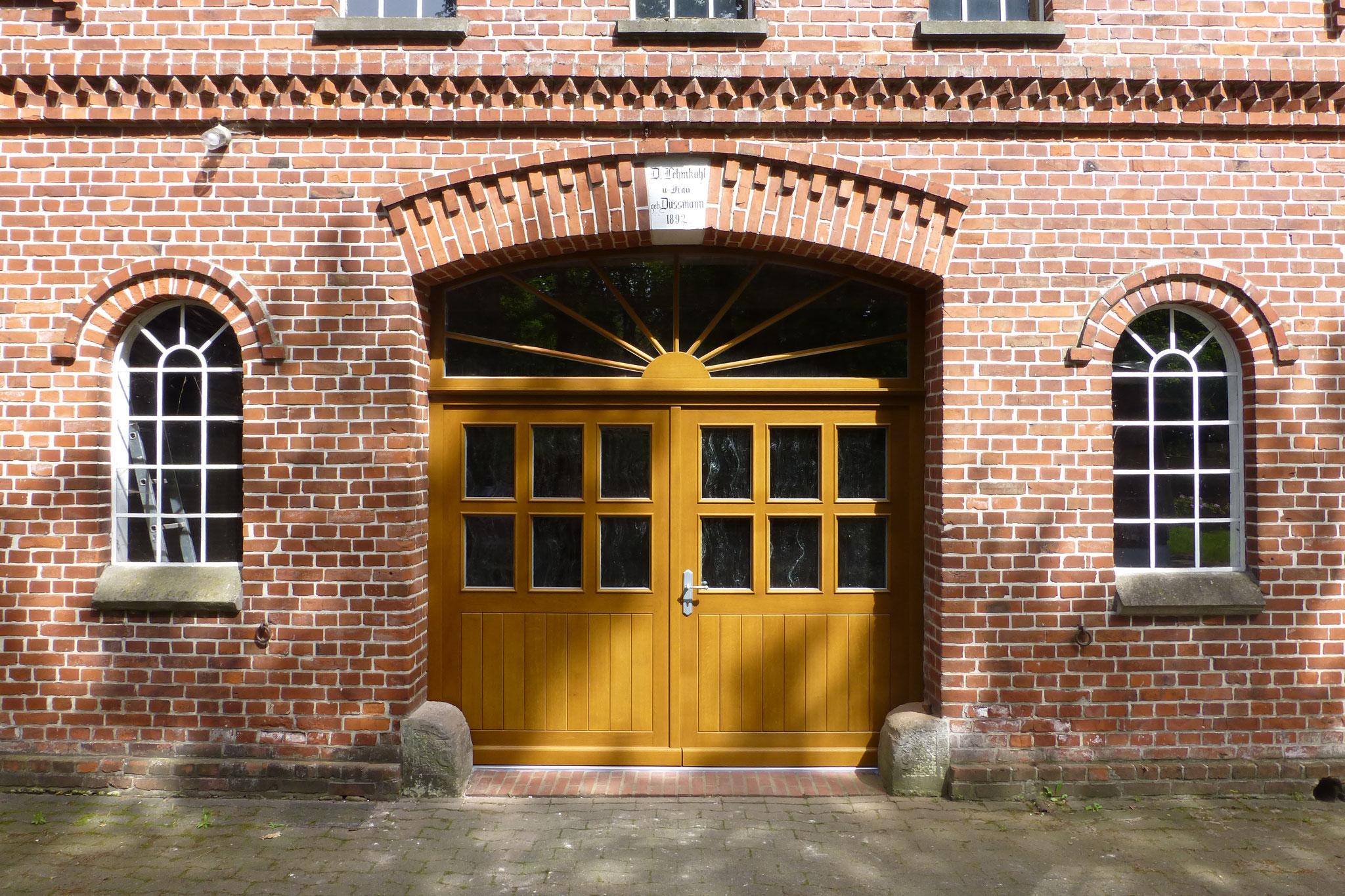 Haustür in der Gemeinde Ganderkesee
