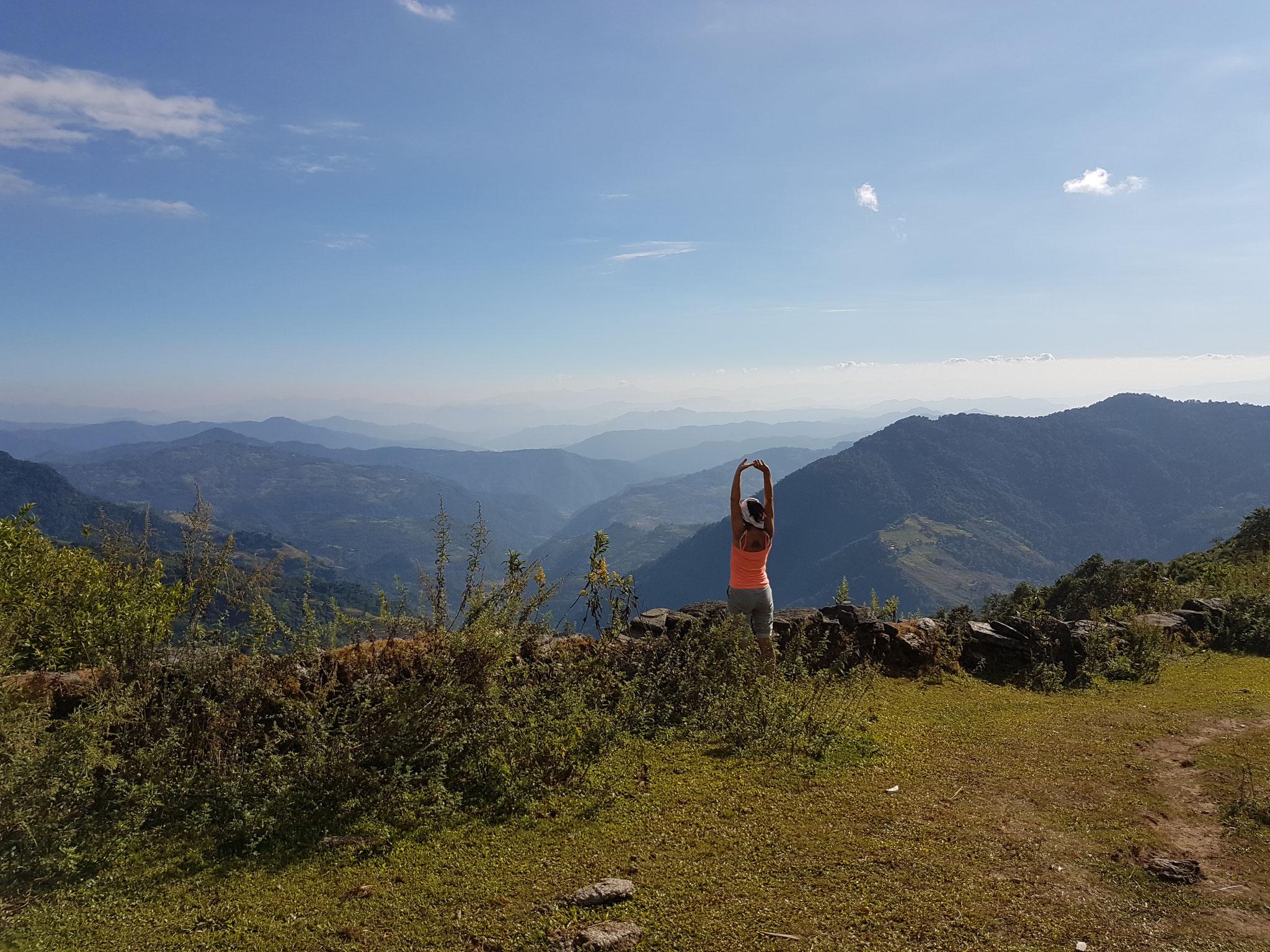 Mittelgebirgslandschaft Nepals