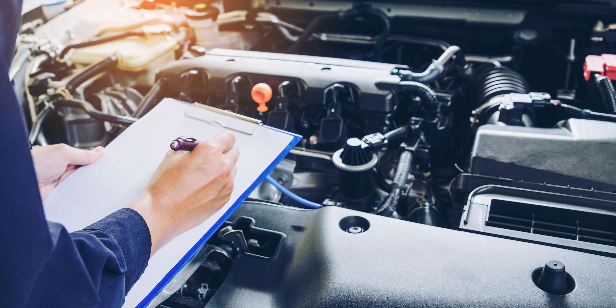 INSPEKTION - Steht eine Inspektion für Ihr Auto an?