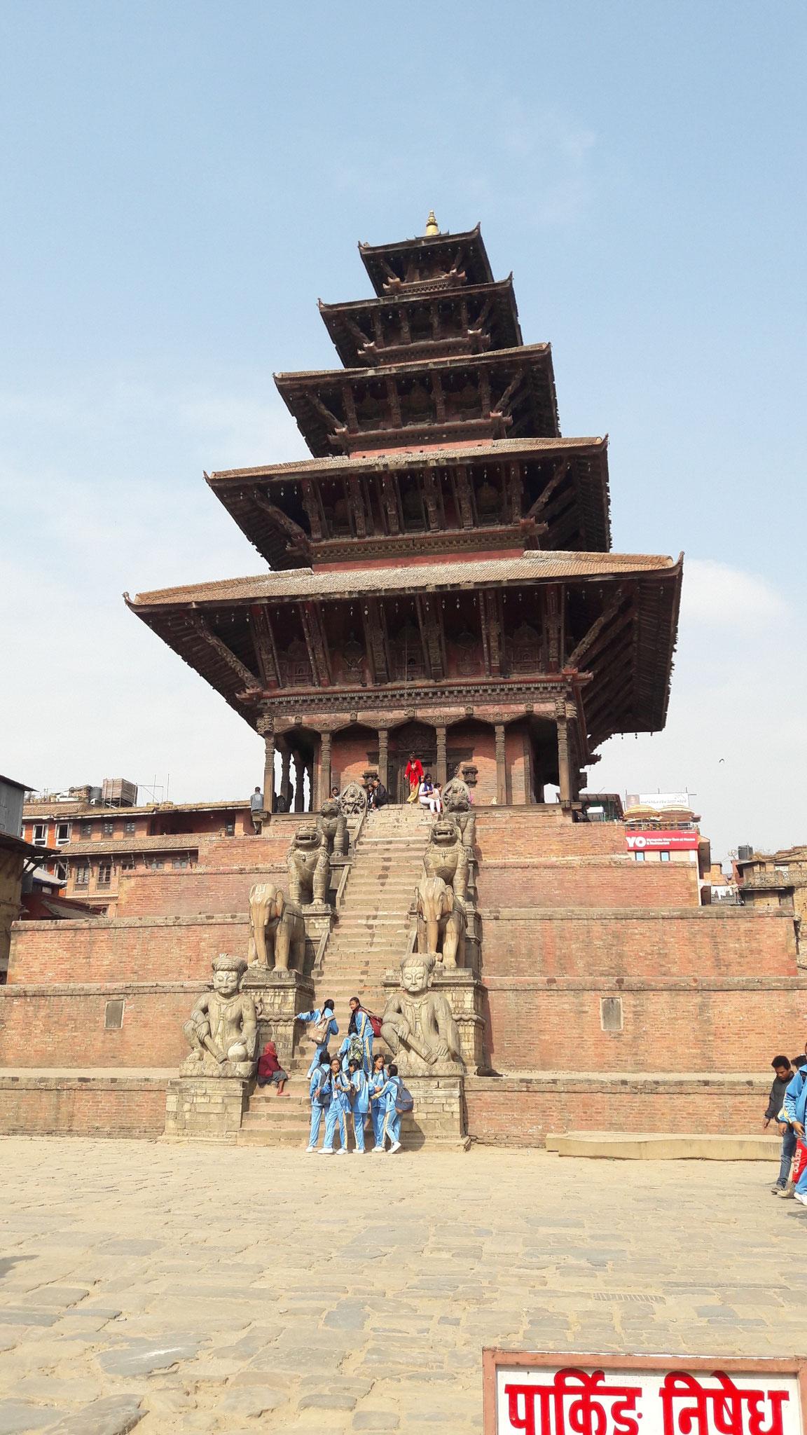 Tempel in Bahktapur