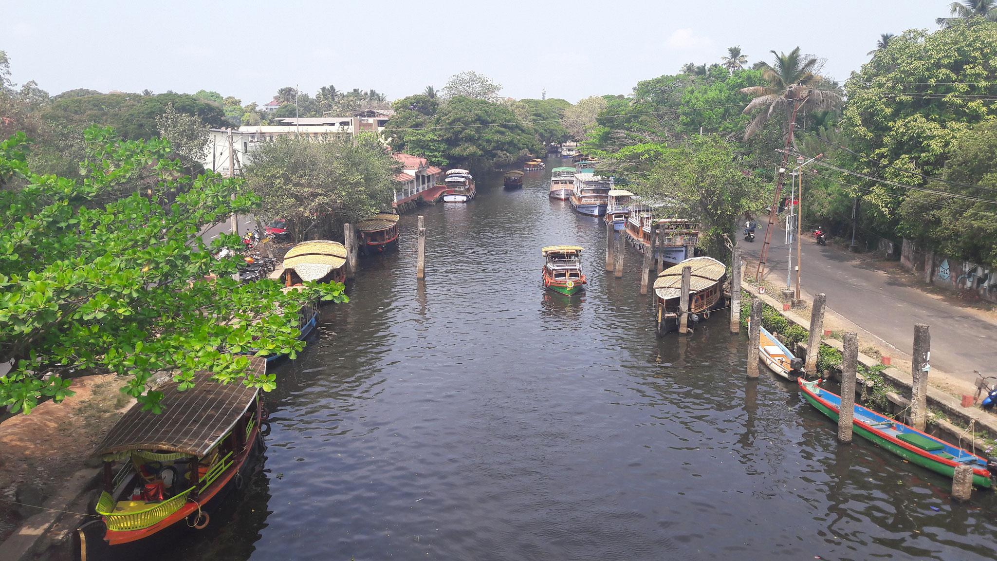 Aleppey - auch Indiens klein Venedig genannt