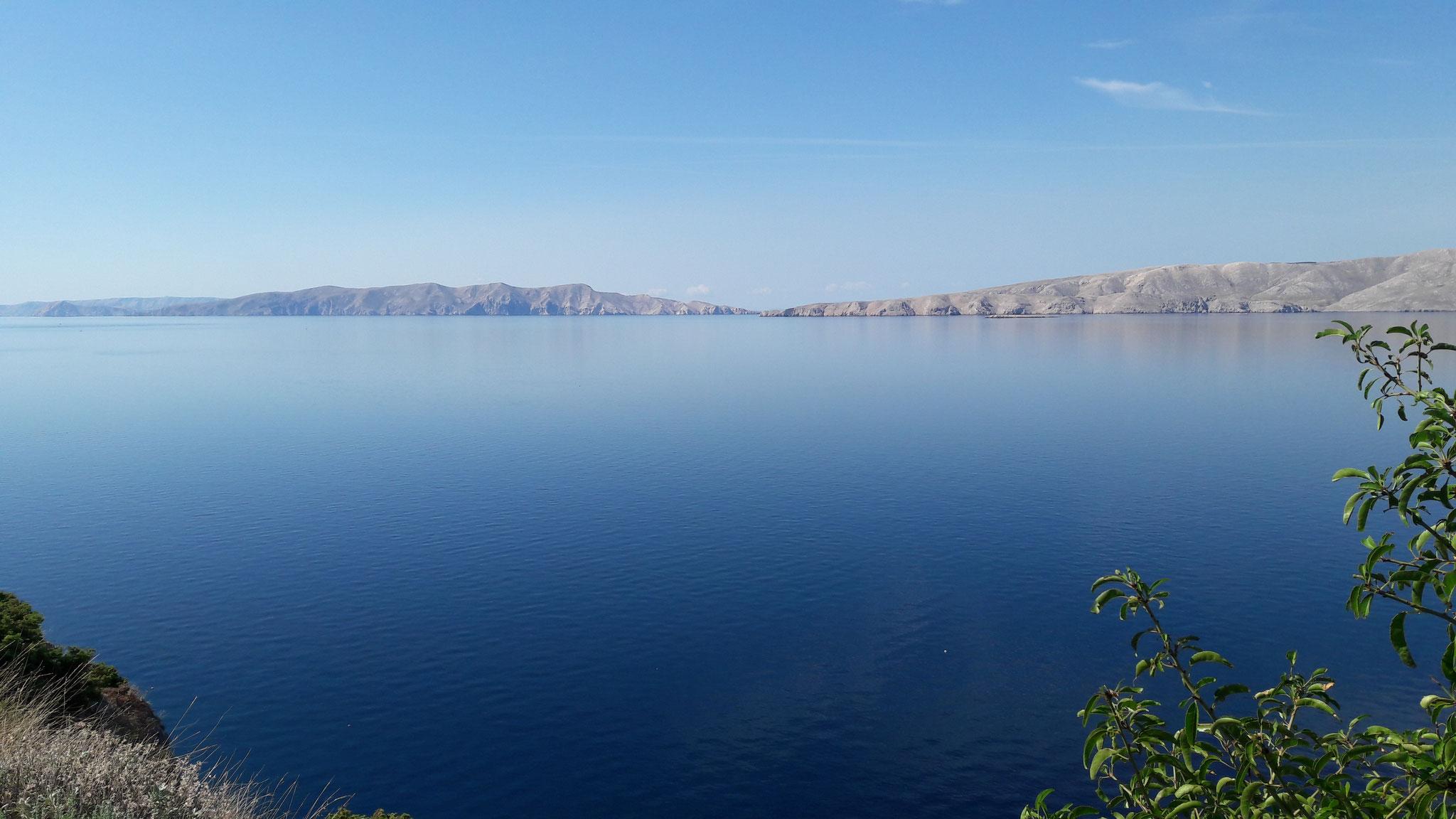 Blick auf die Insel Krk