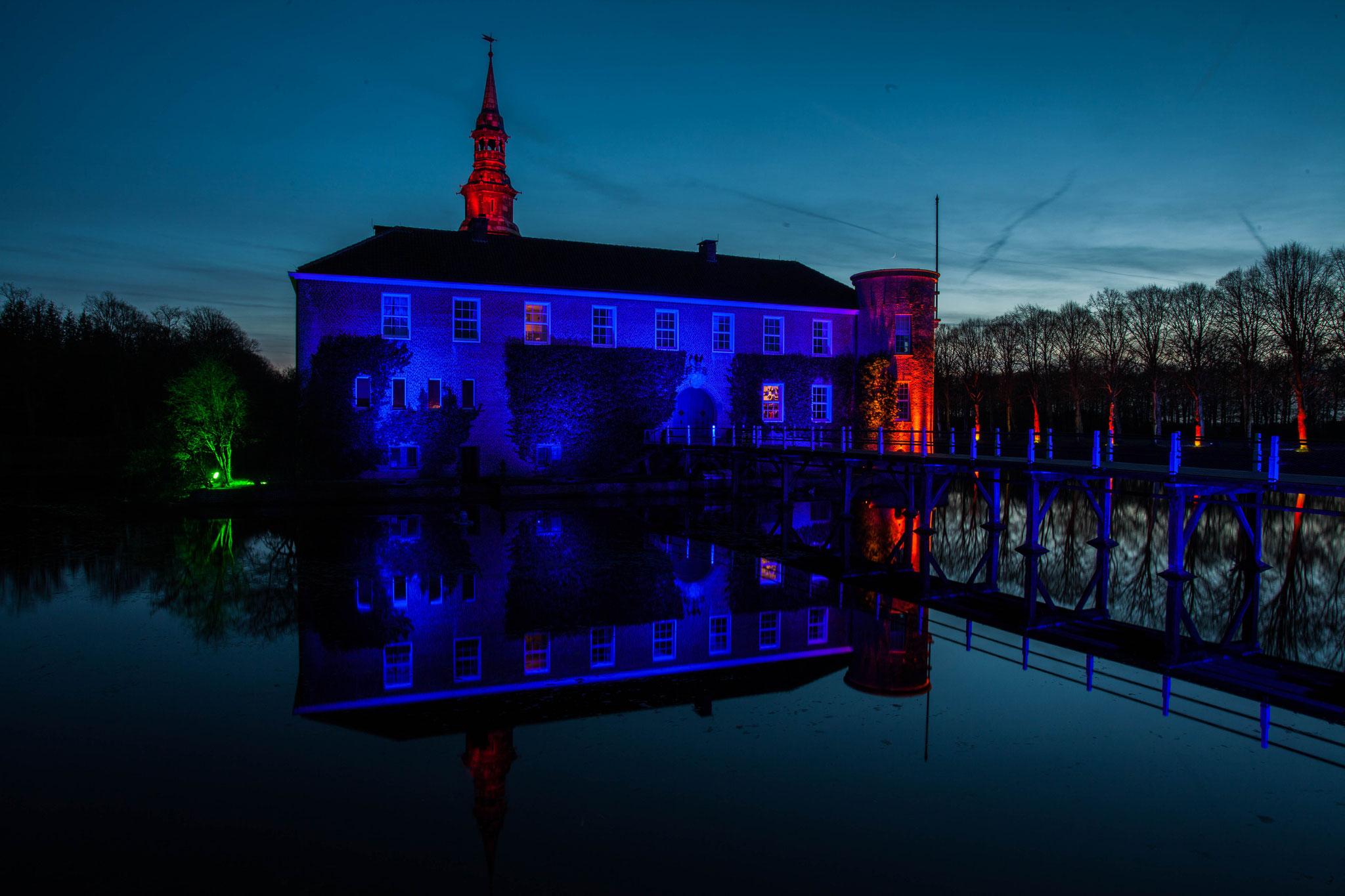 Schloss Lütetsburg - Foto des Monats im Ostfriesland-Magazin (OMa) 12/2019