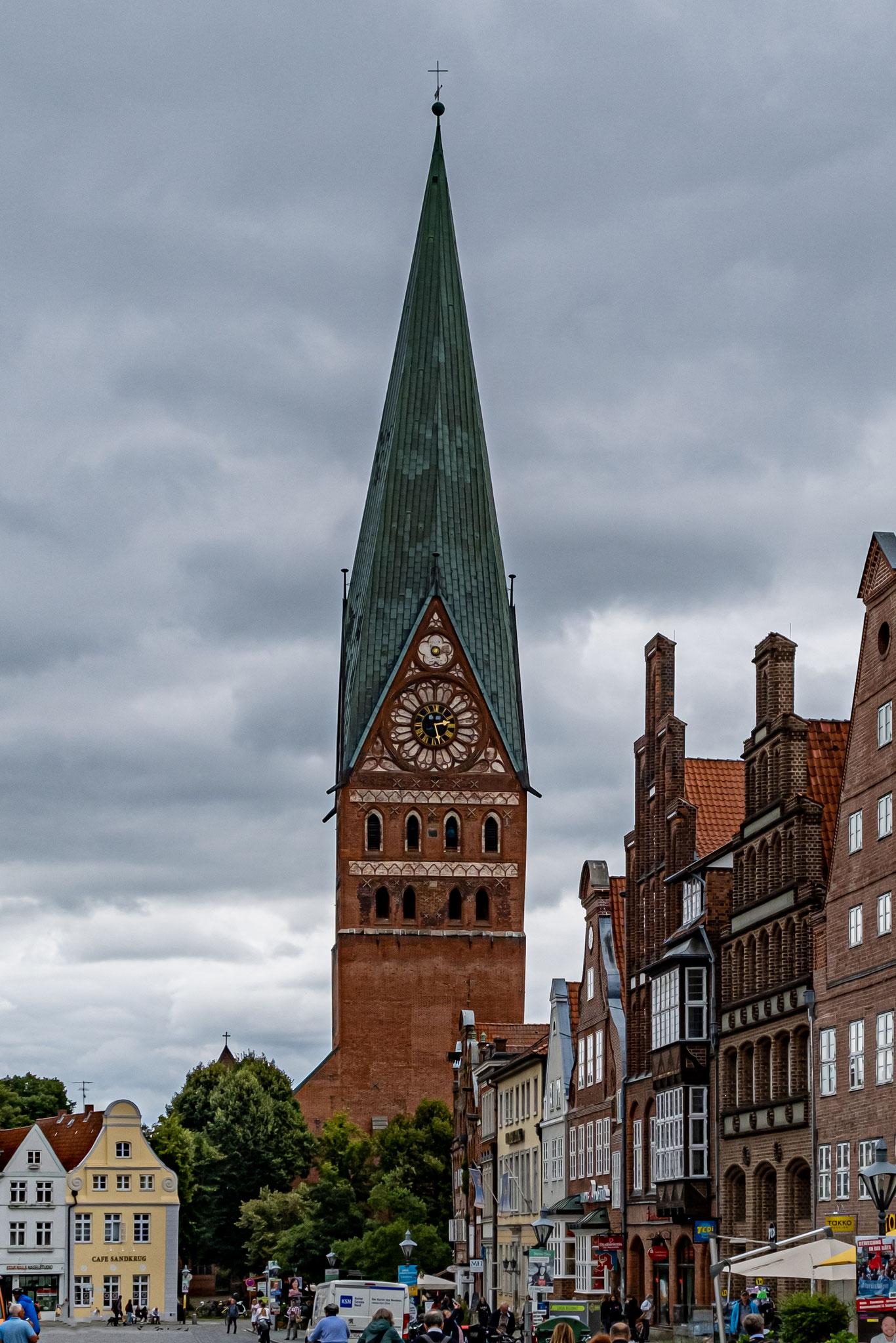 Evgl.-Luth. St. Johannis-Kirche zu Lüneburg - erbaut zwischen 1289 und 1470