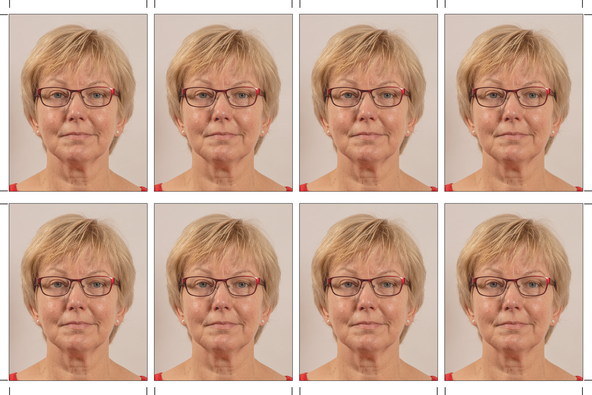 Biometrische Fotos für den Ausweis
