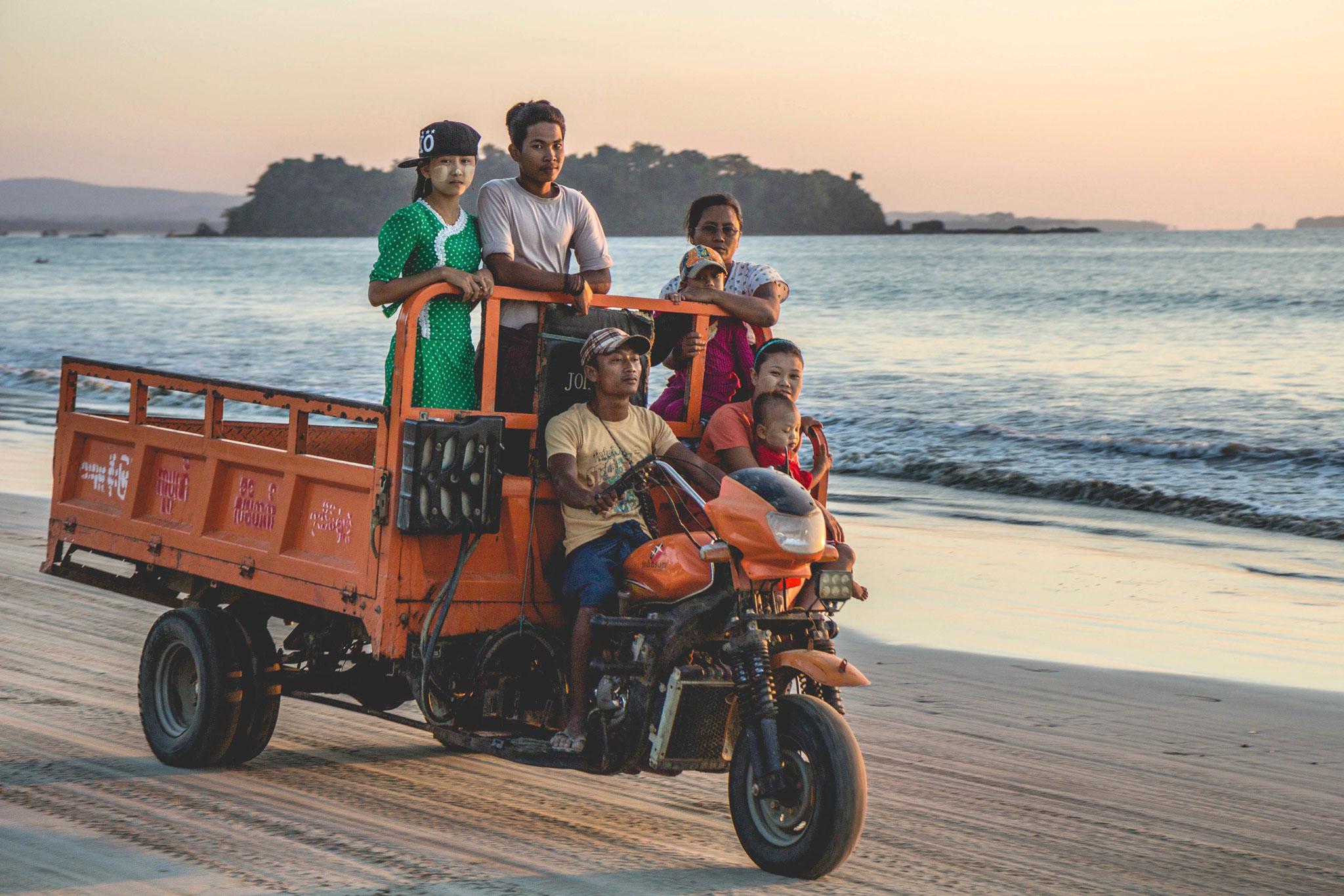 Ngwesaung Beach, Myanmar 2016