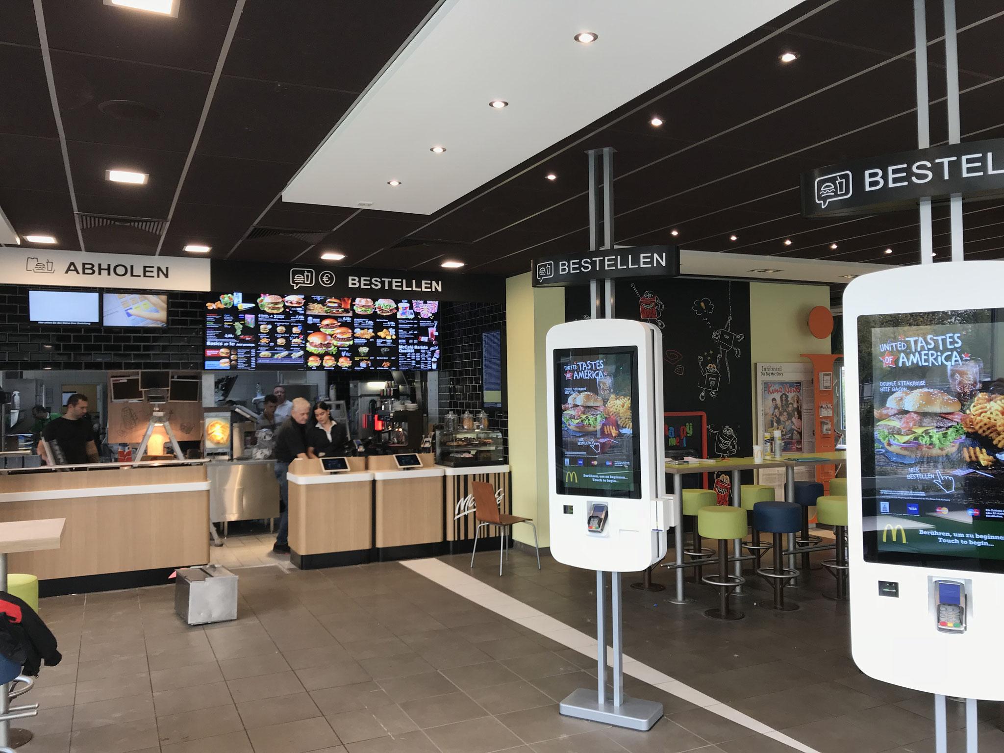McDonalds Dratelnstraße | Elkomp Unternehmensgruppe