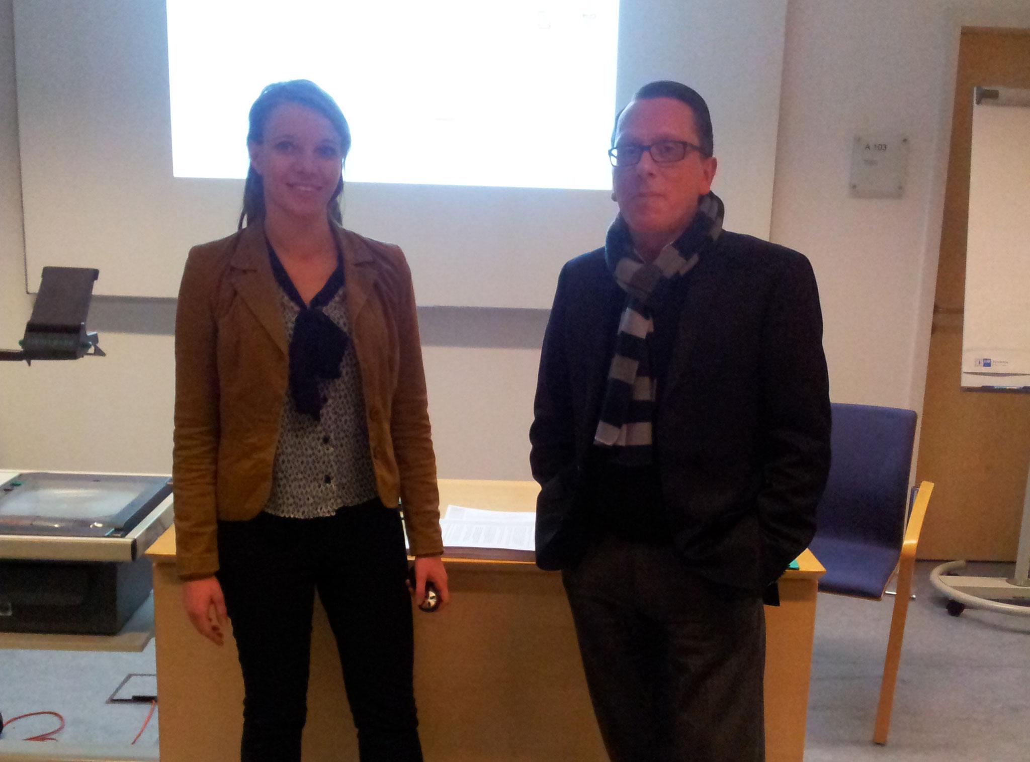 Teammitglieder Angela Hahn und Dino G. Cardiano