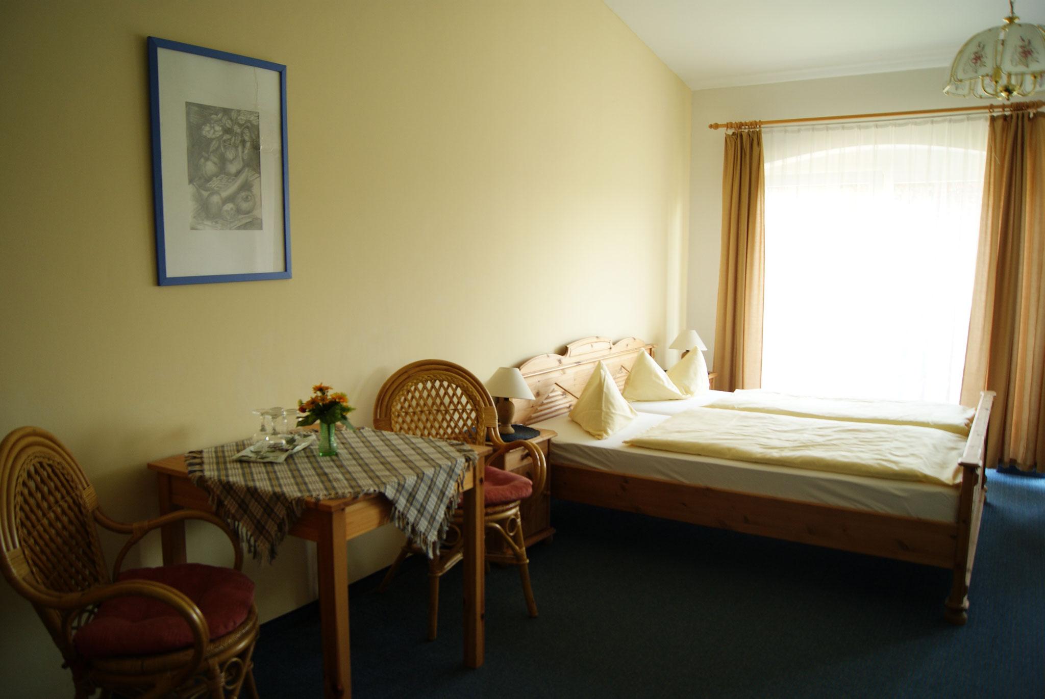 Doppelzimmer Pension Waldeck