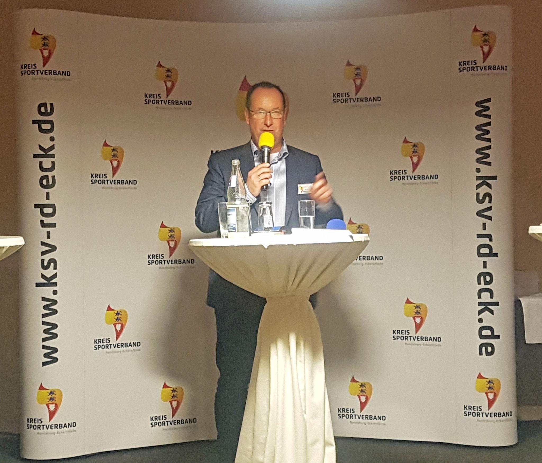 Dr. Thomas Liebsch-Dörschner, 1. Vorsitzender Kreissportverband RD-ECK