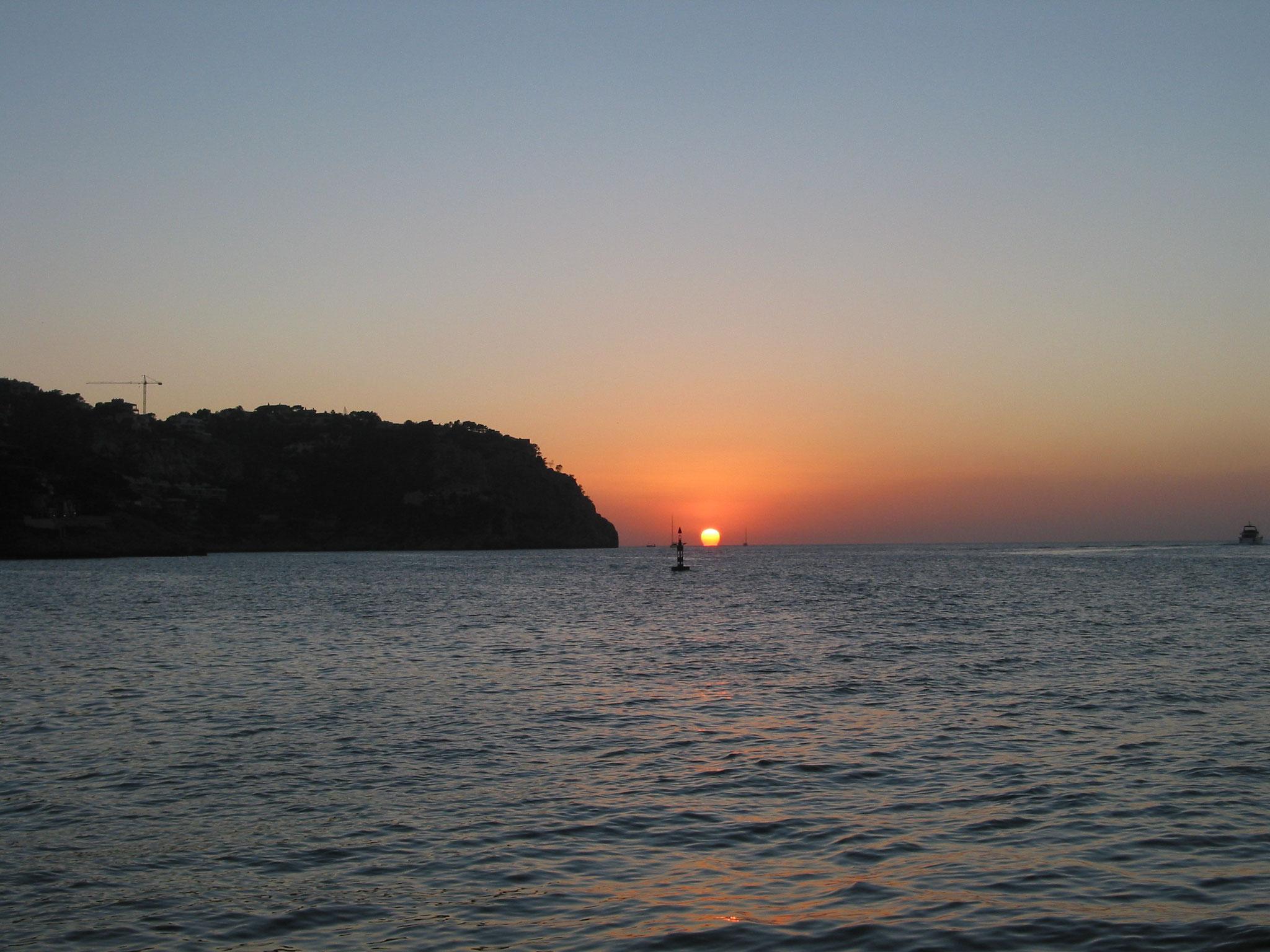 Sonnenuntergang Sunset Mallorca  Andratx