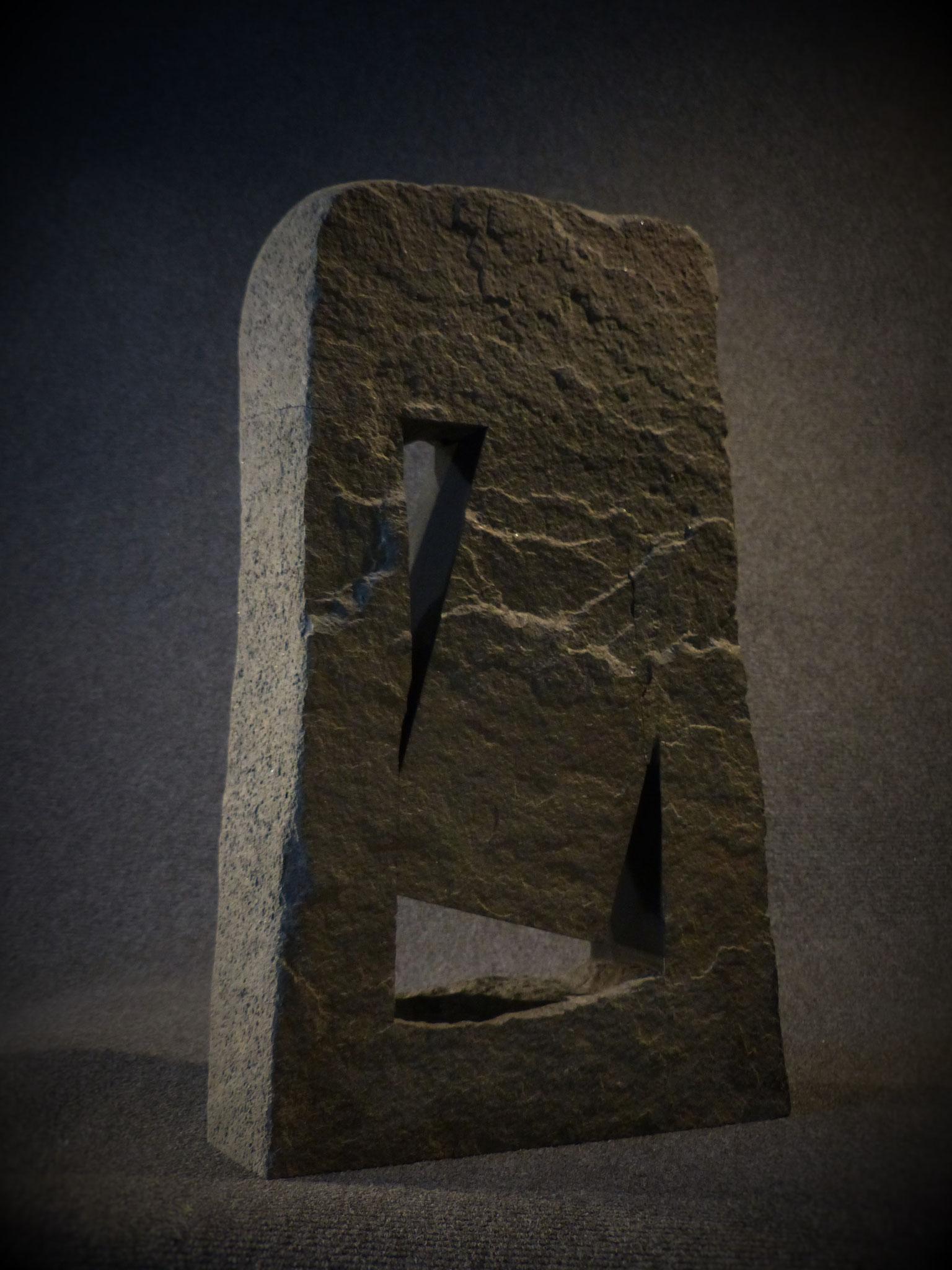 L'envol - diorite - 50x30x8 cm