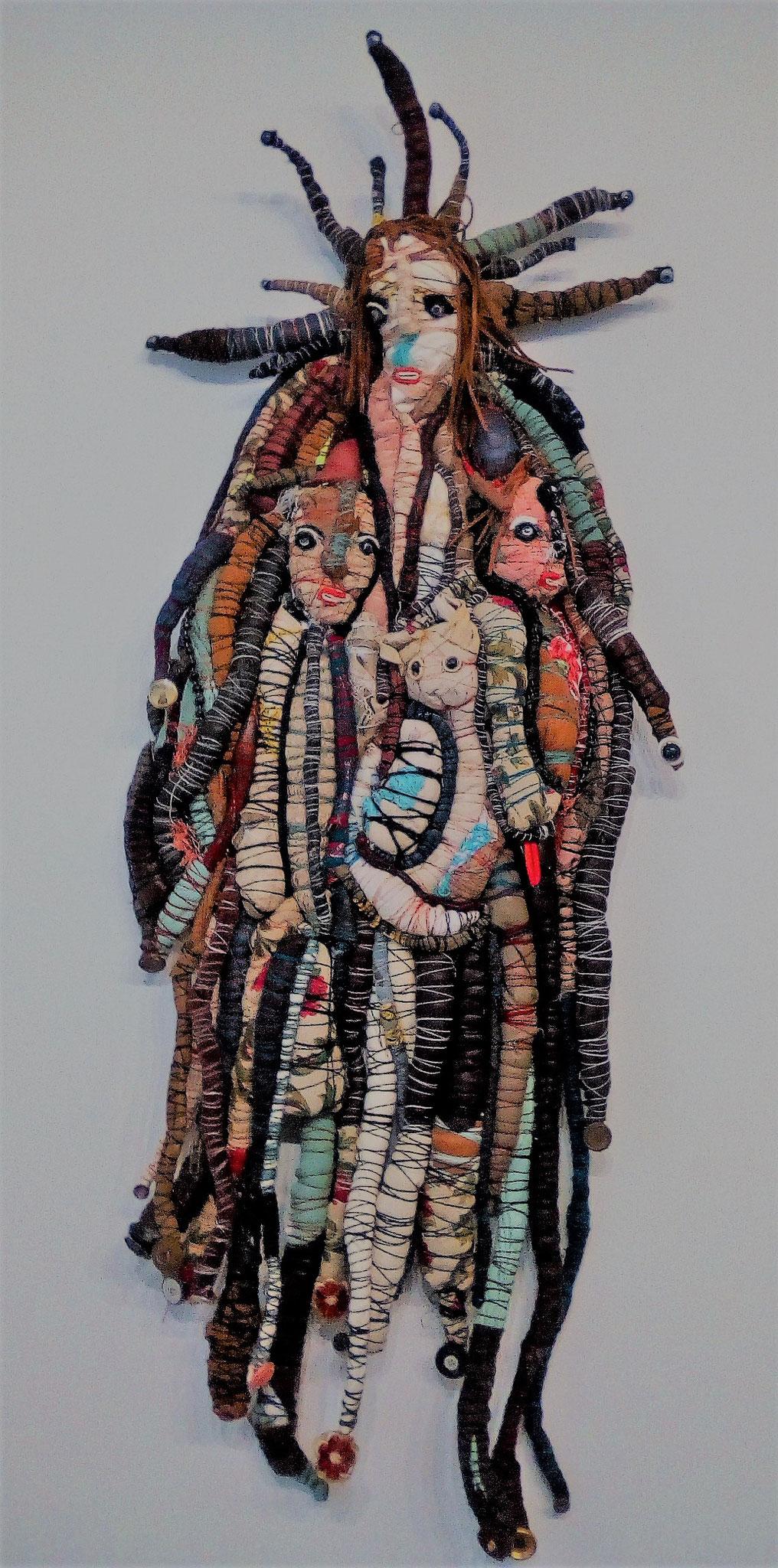 Hooloomouloo - 110 x 35 cm - Oeuvre de Virginie Chomette