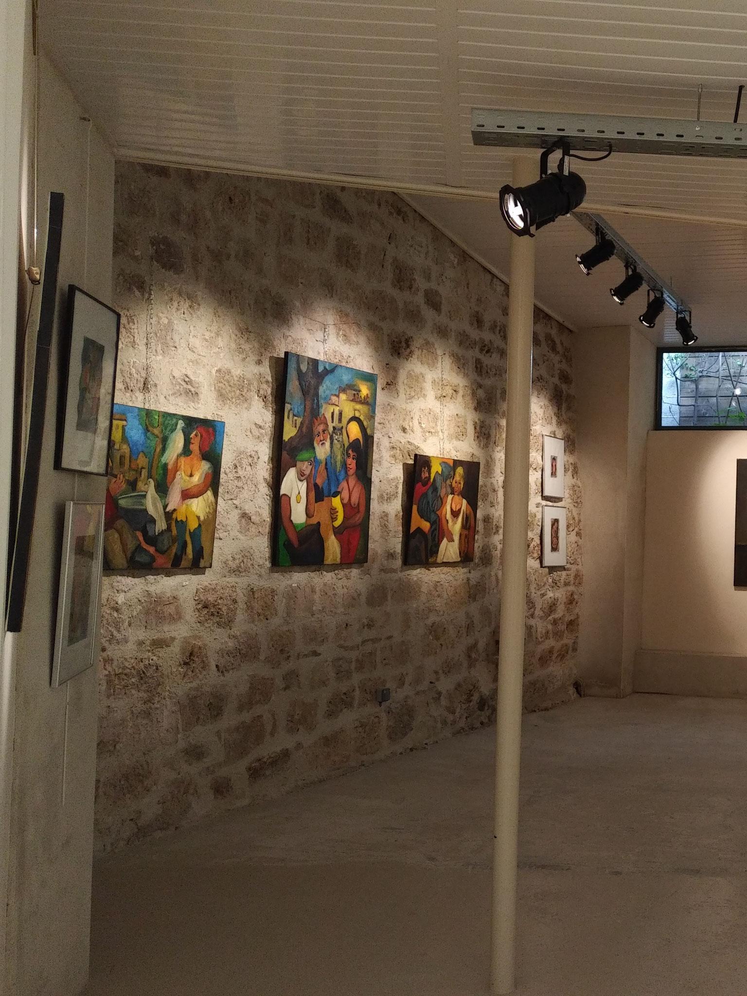 Exposition de mai 2018 oeuvres de Pierre Assémat
