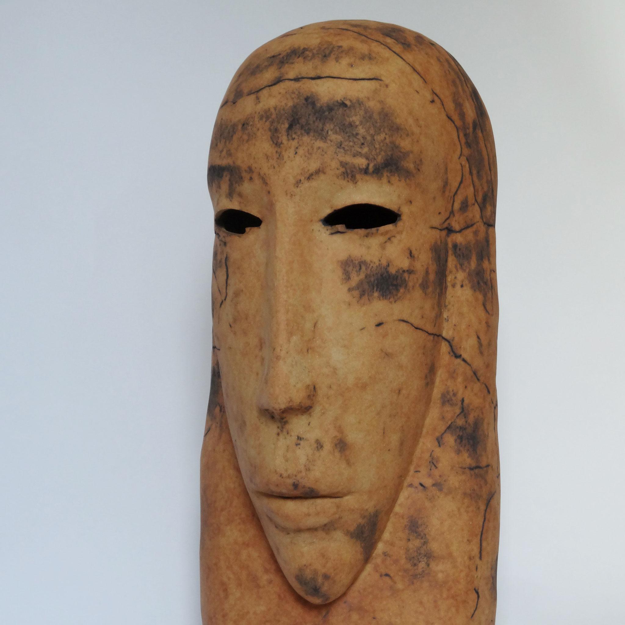 Sans titre (2015), céramique, 77x33x44 cm, Sculpture de Magdalena Kopacz.