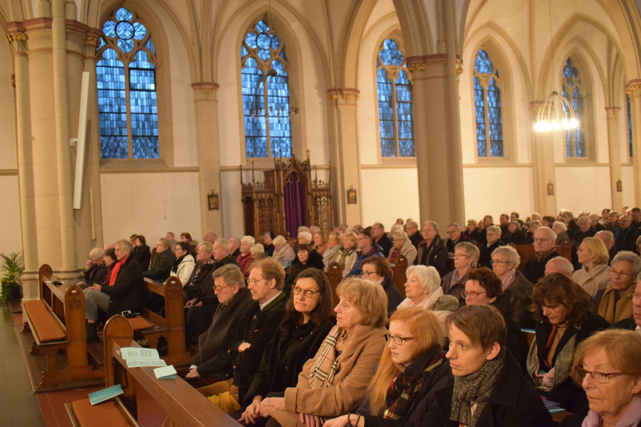 Die Konzertbesucher - Foto Damir Elezi - Hertener Allgemeine