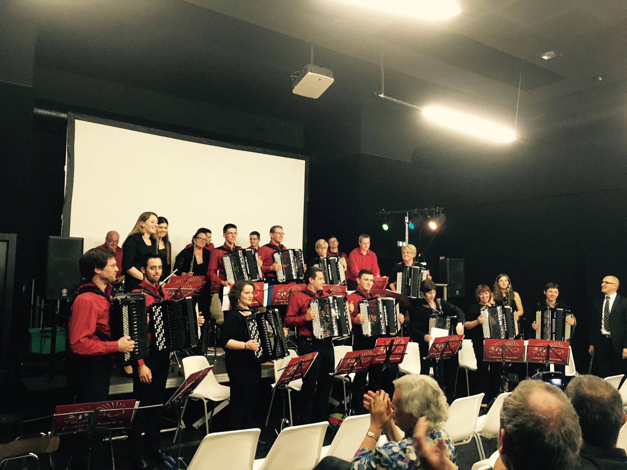 Concert inauguration médiathèque Altkirch 2016