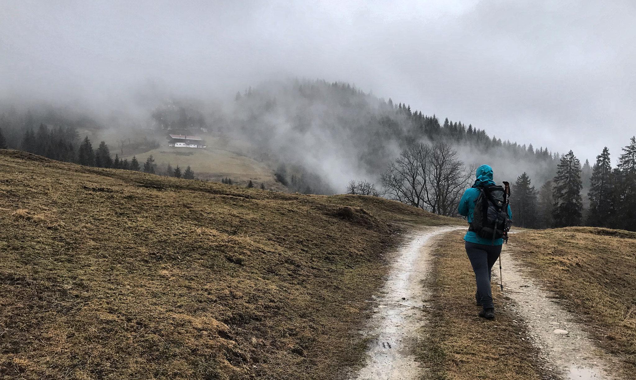 Tour 4 <> Samerberg - Frasdorf - Frasdorfer Hütte