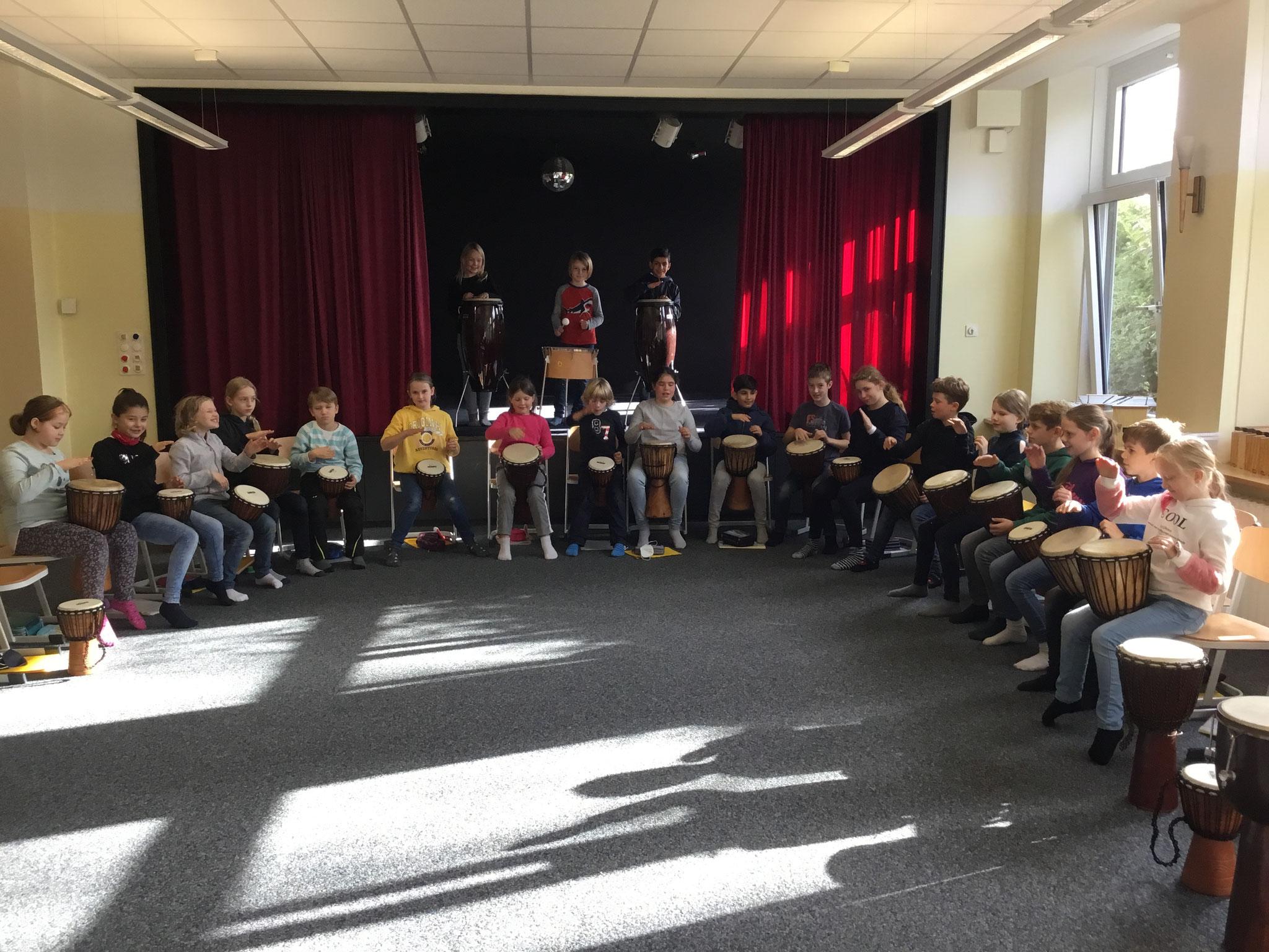 Klassenmusizieren im Musikraum